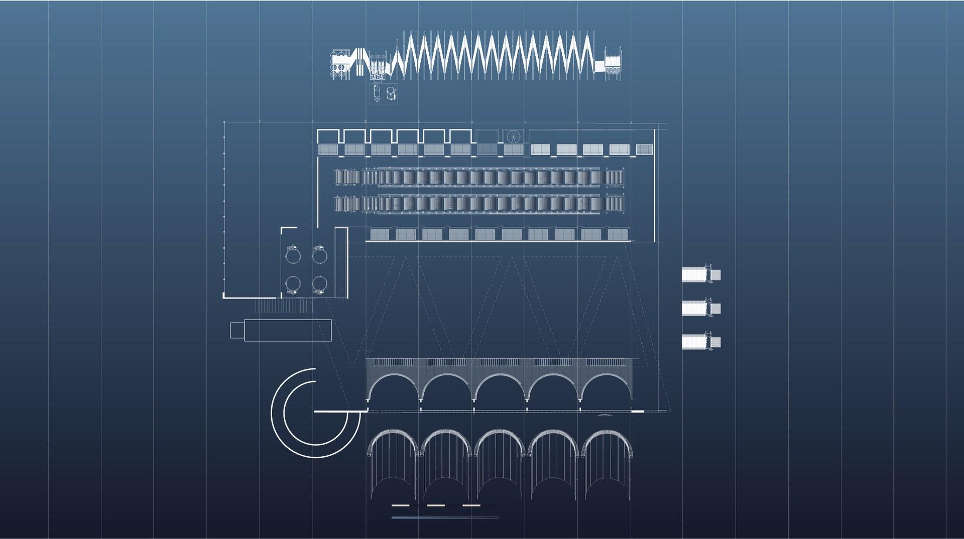 Ground floor Plan (Machinery)