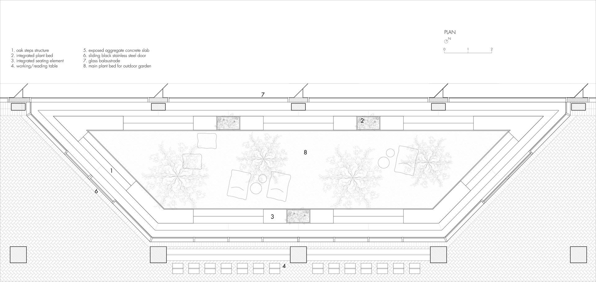 The Tech-Free Garden: Plan | Digital Drawing