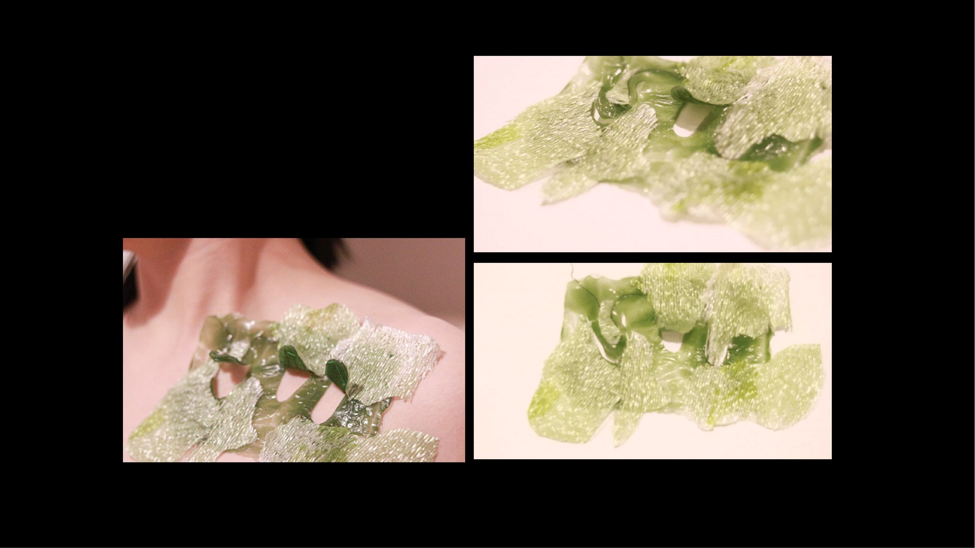In the Context of  Temperture Responsive Textile