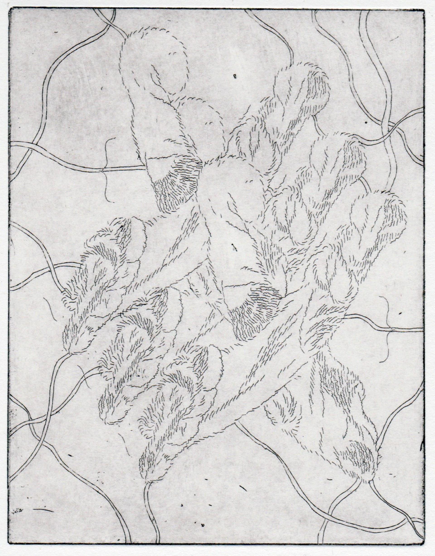 Detail of etching