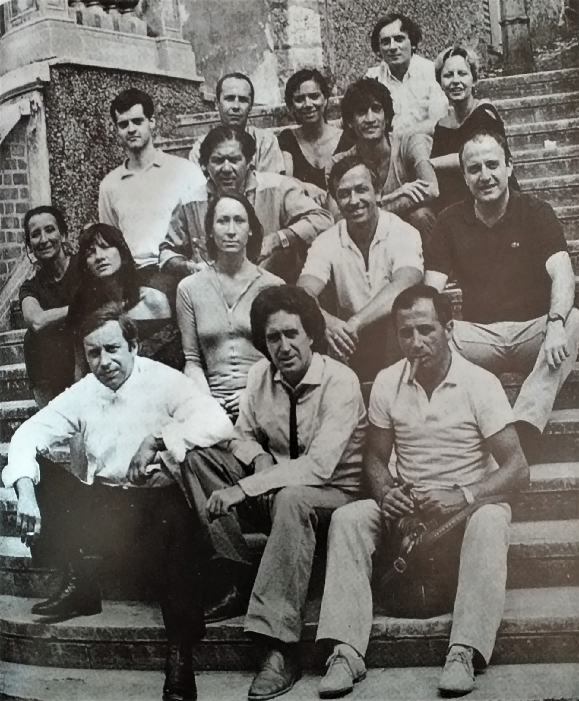 Pampiglione's Atelier di Formia on the Spoleto Steps, 1984.