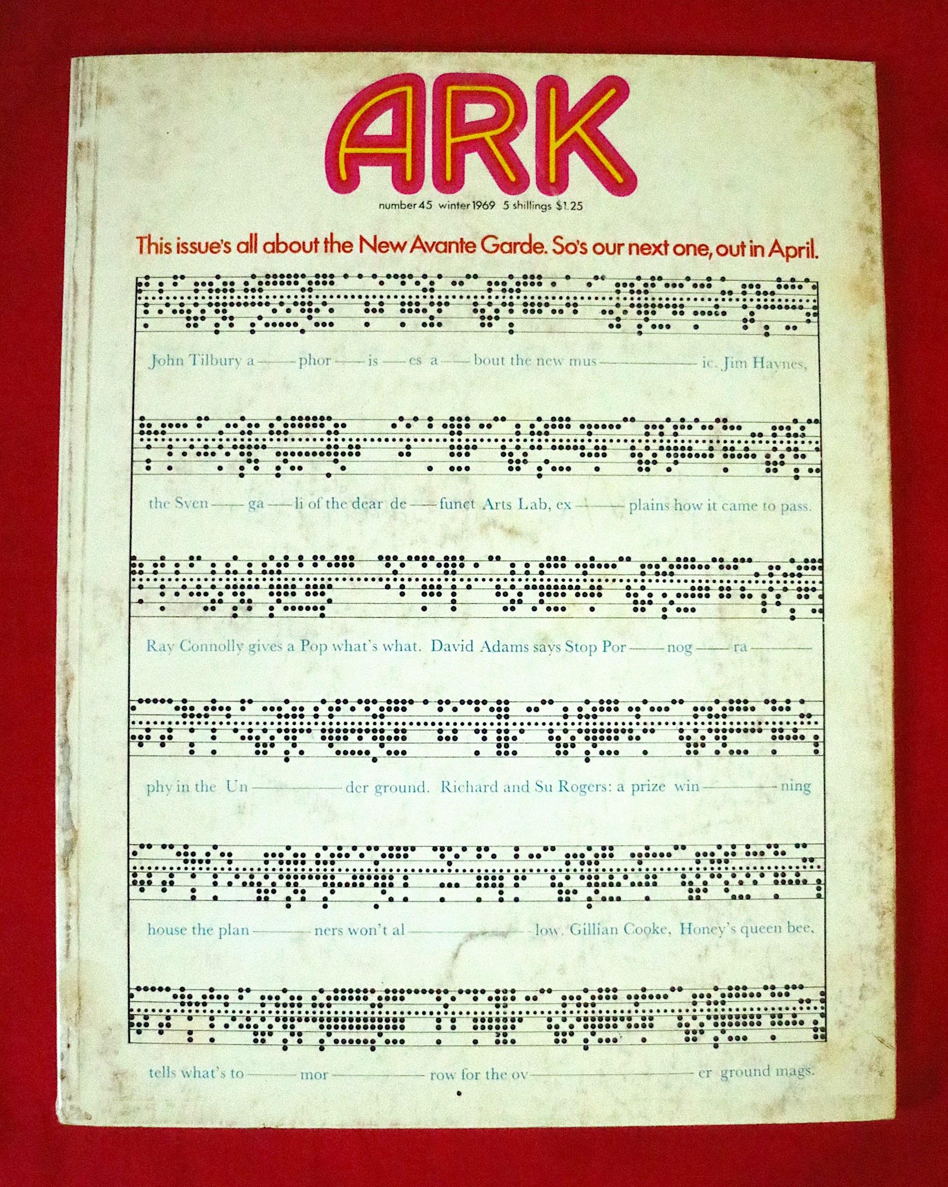 Ark 45 Winter 1969