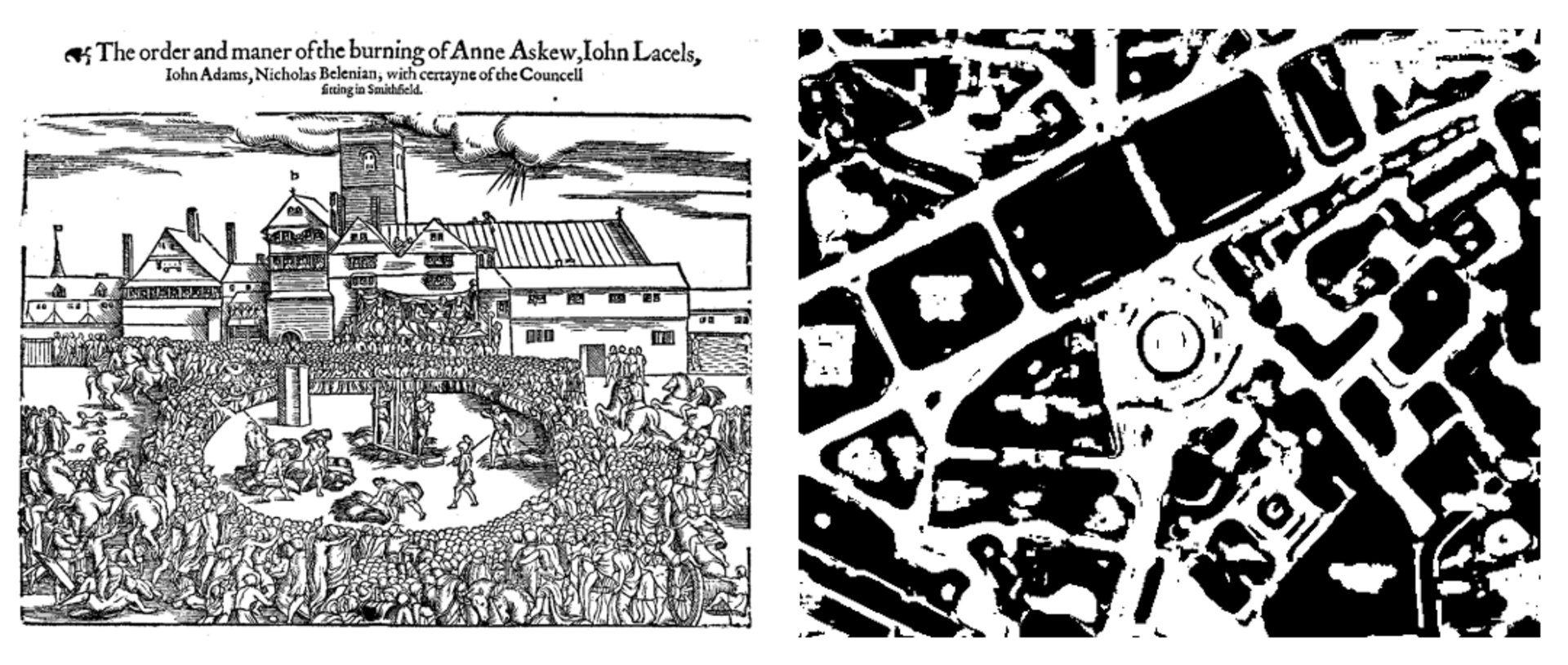 Visual Echoes: Place of Anne Askew's execution