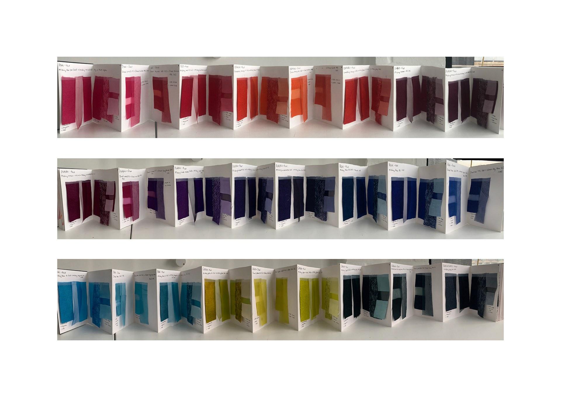 Exploring colour through dyeing