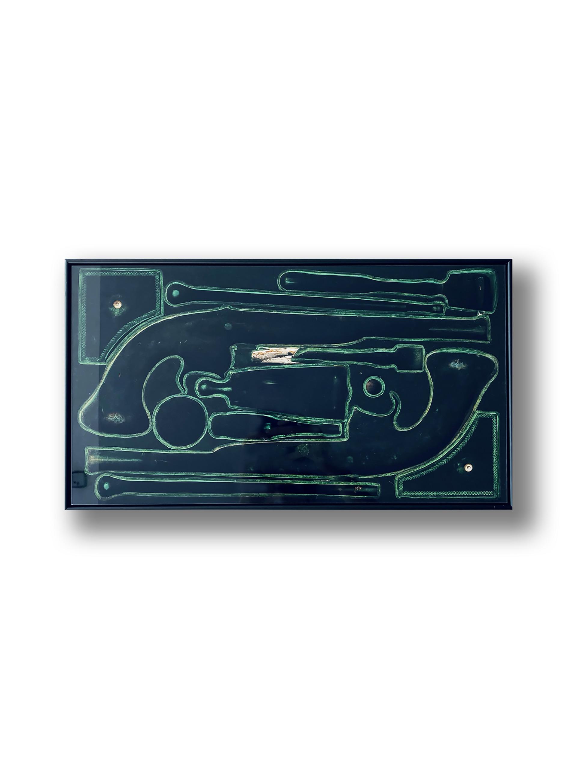 Vessel III, 2020 - 42 x 23cm (framed)