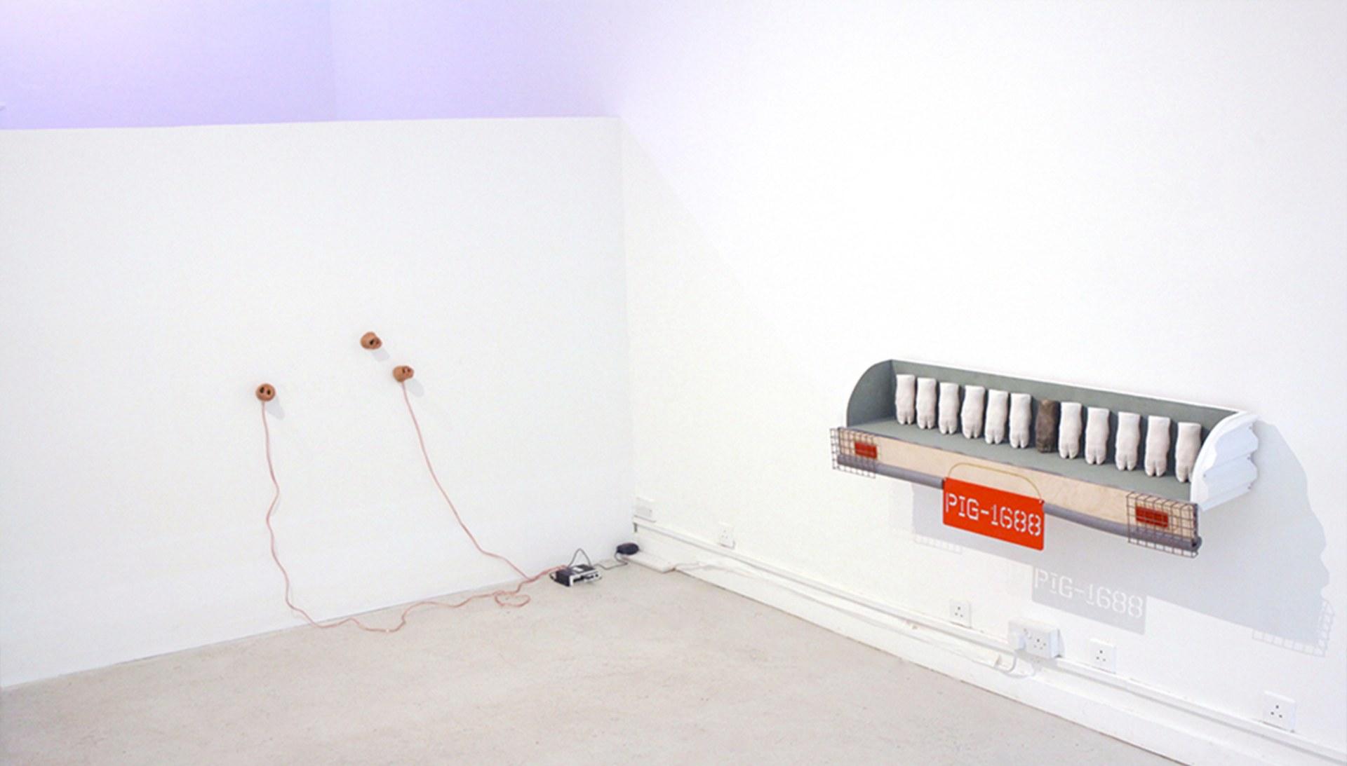 Installation view at Peak Gallery
