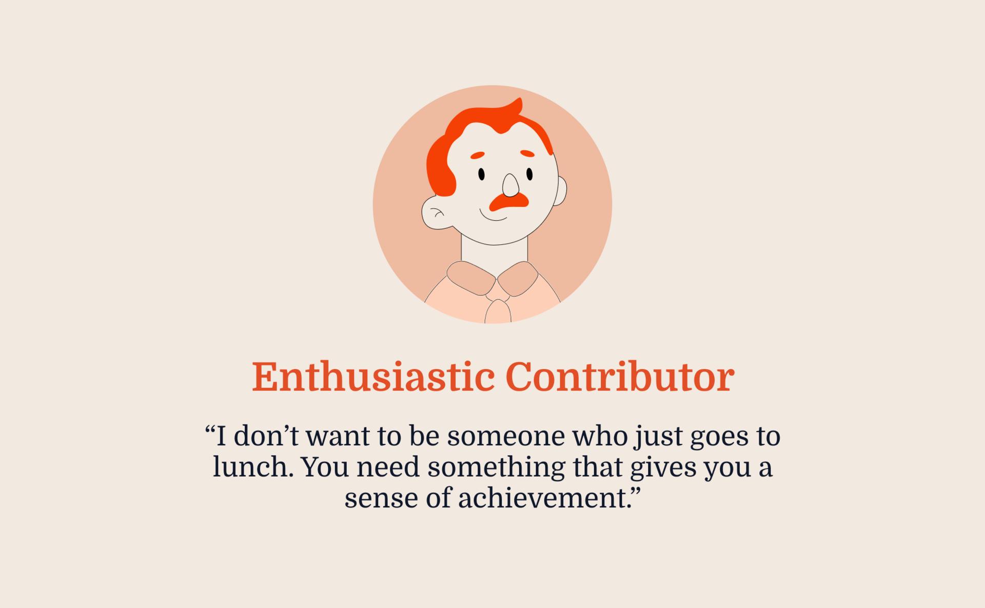 Contributors seek meaningful activity