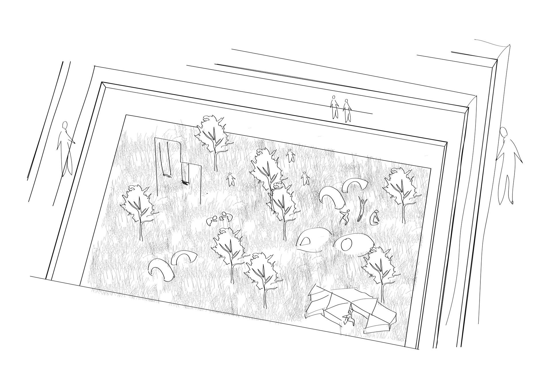 The Childcare Garden | Digital Sketch