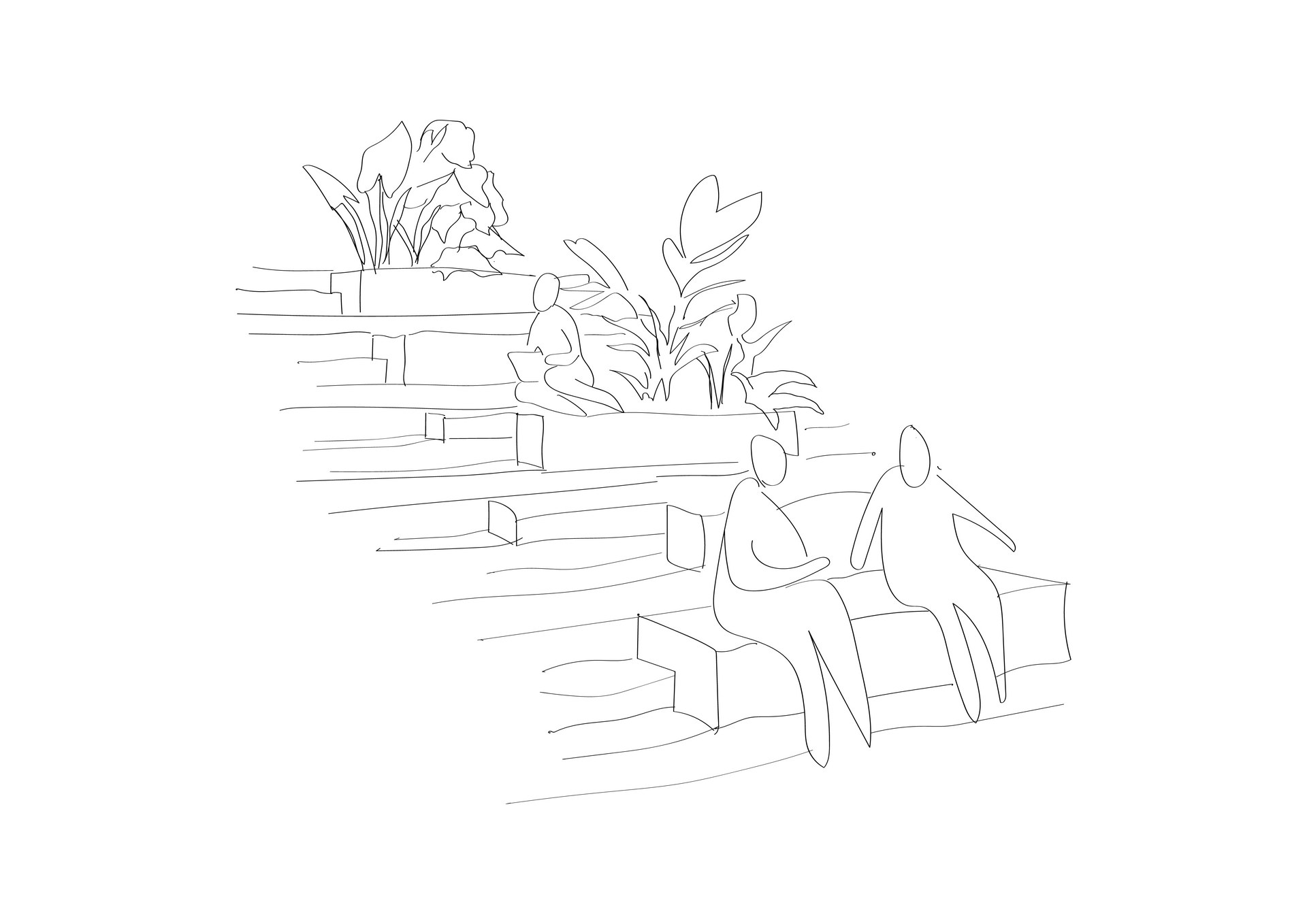 The Staircase | Digital Sketch