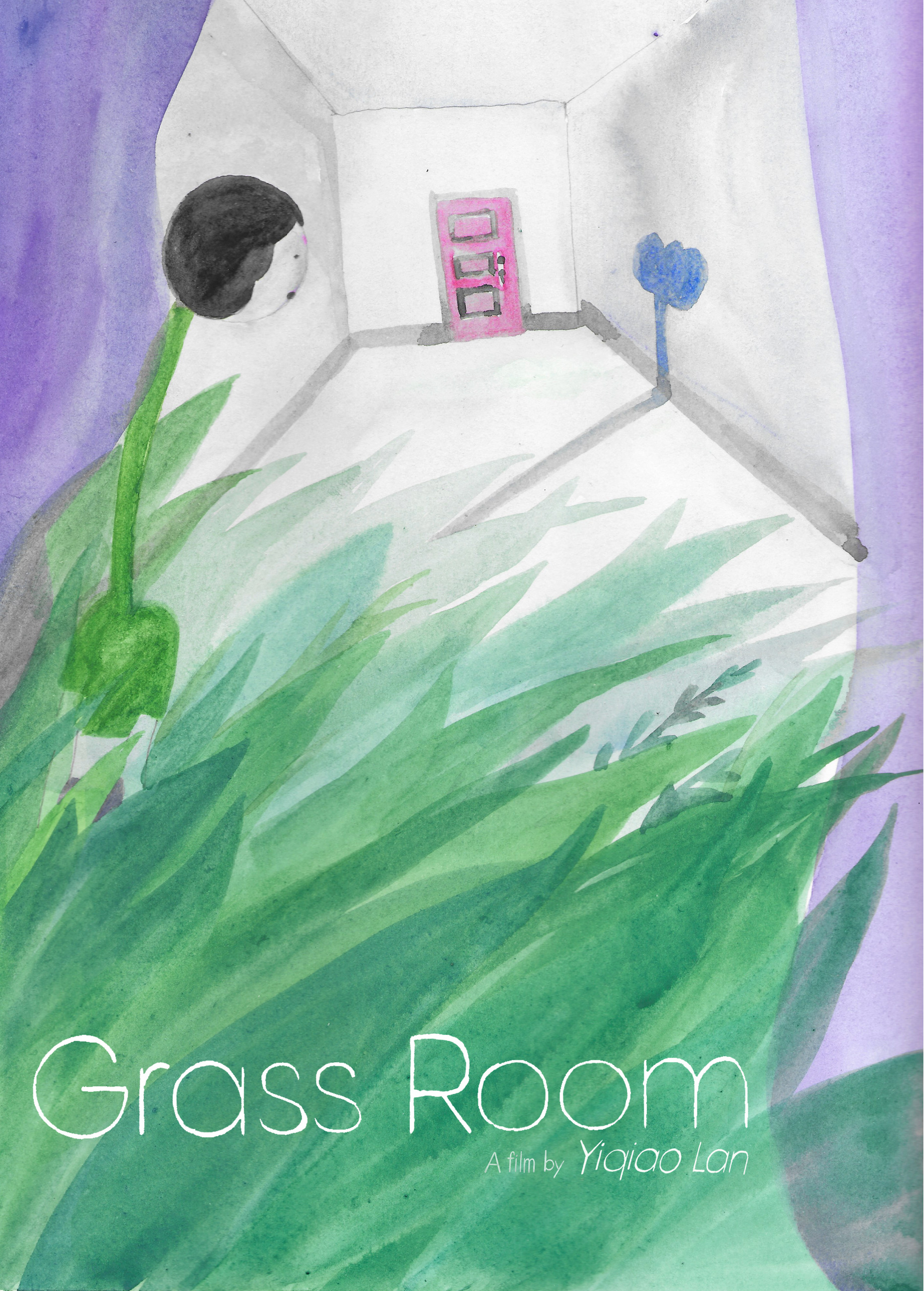 A poster for Grass Room