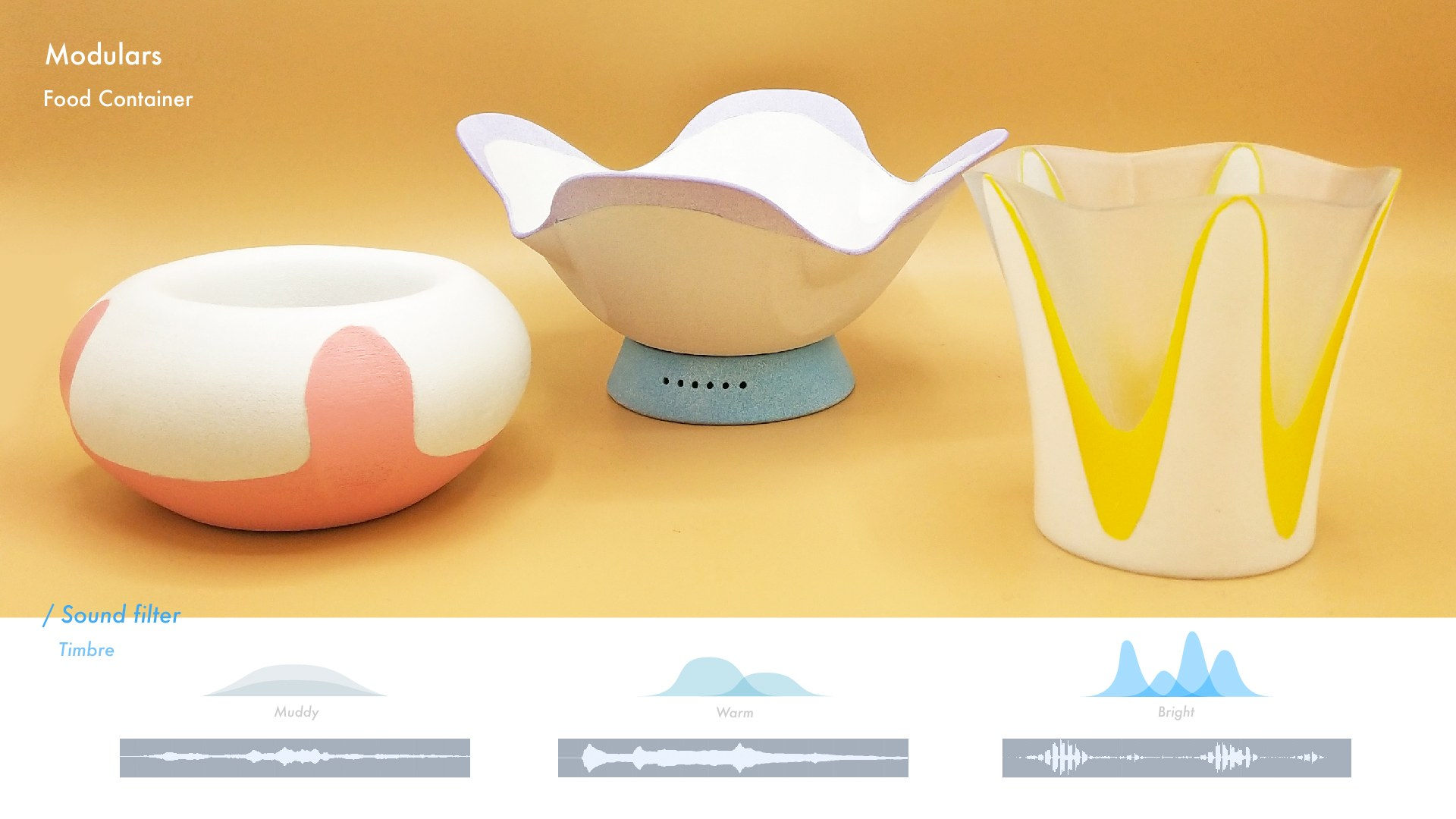 2. Food Containers - Sound Filter
