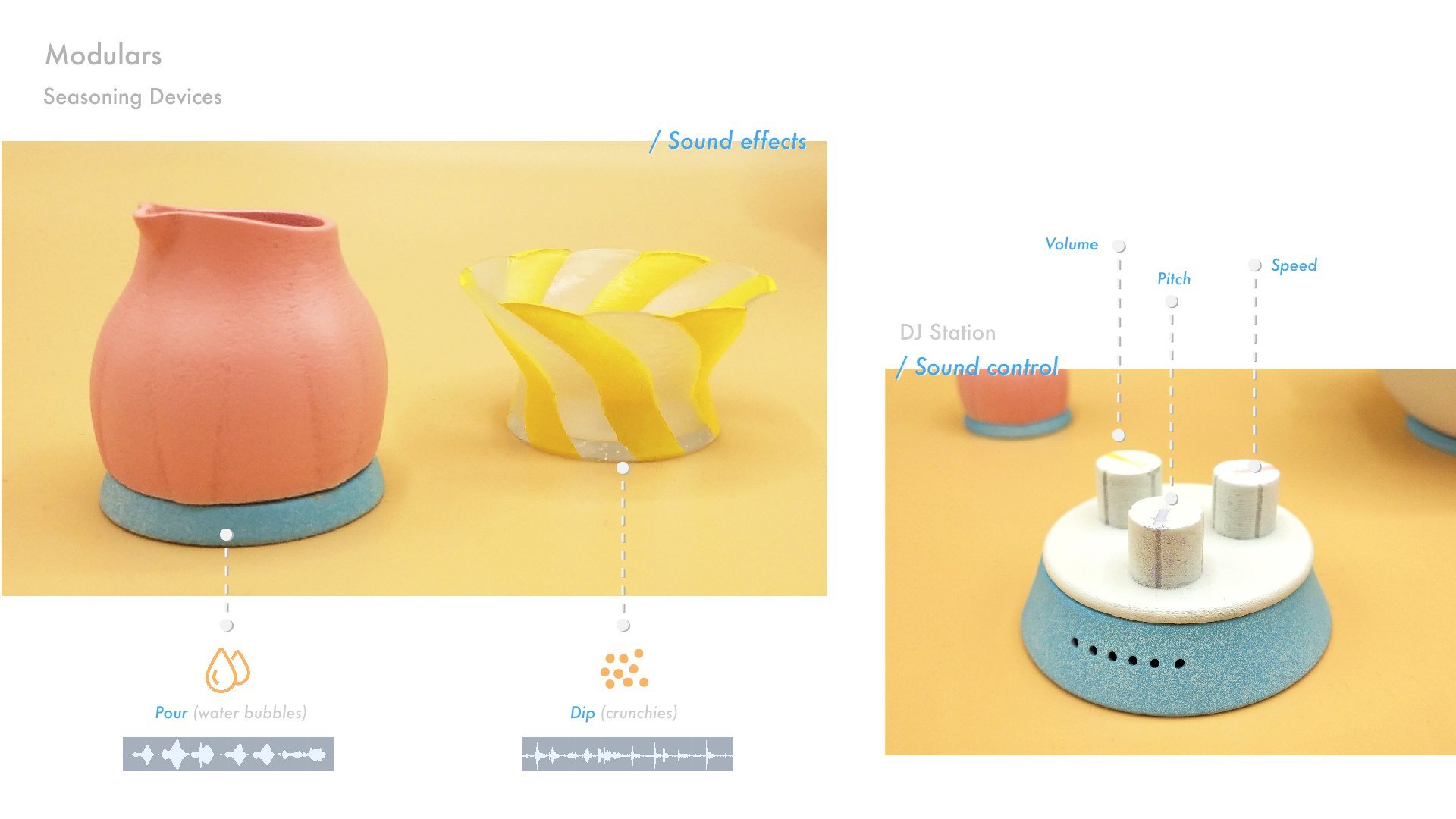 3. Seasoning Devices - Sound Effects