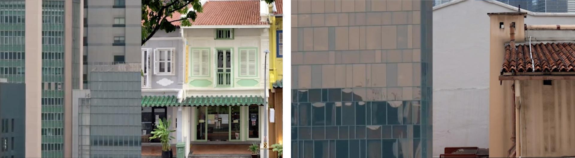 Architectural Juxtaposition