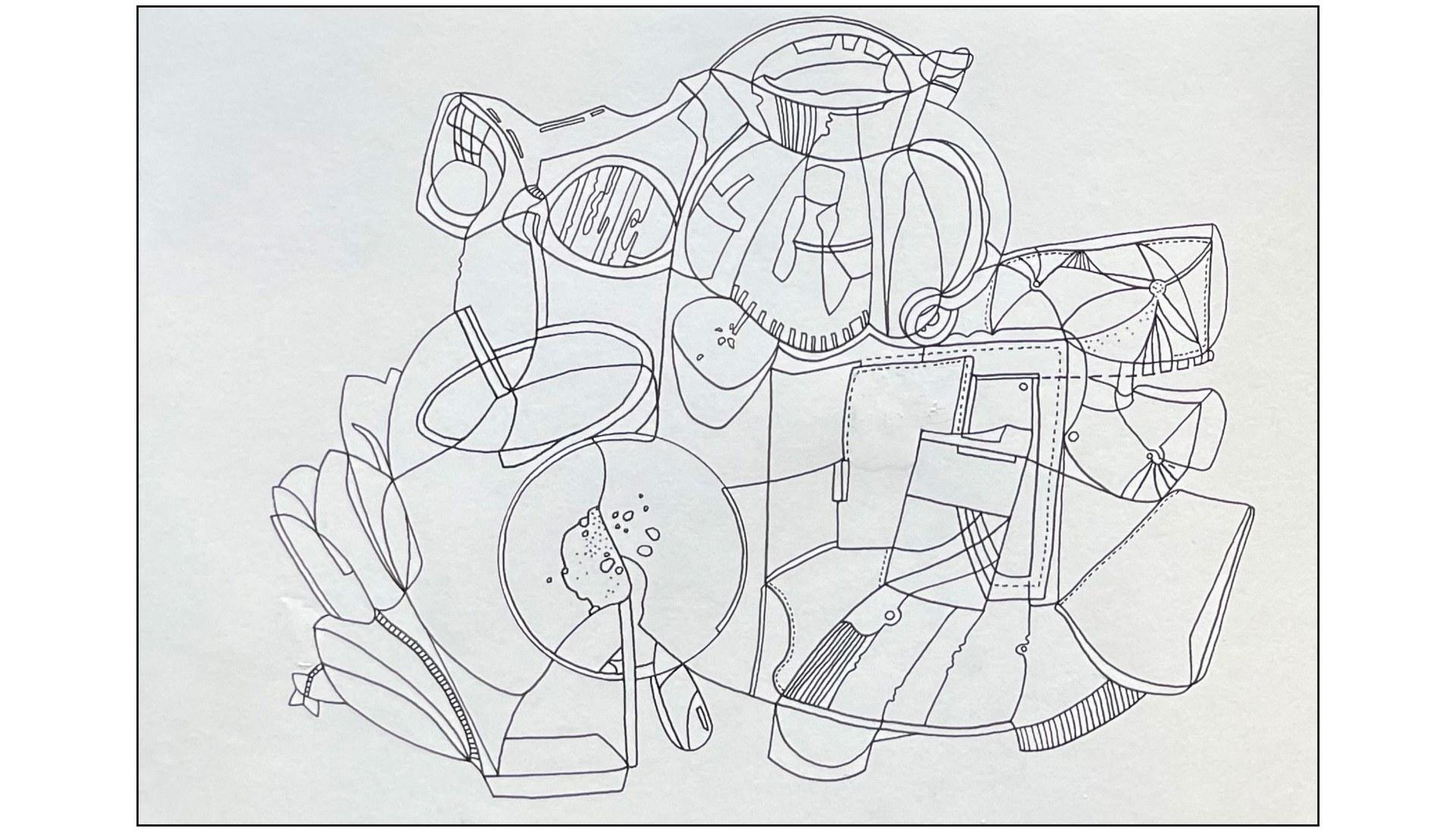 Illustration based on Christine's Objects of Comfort.