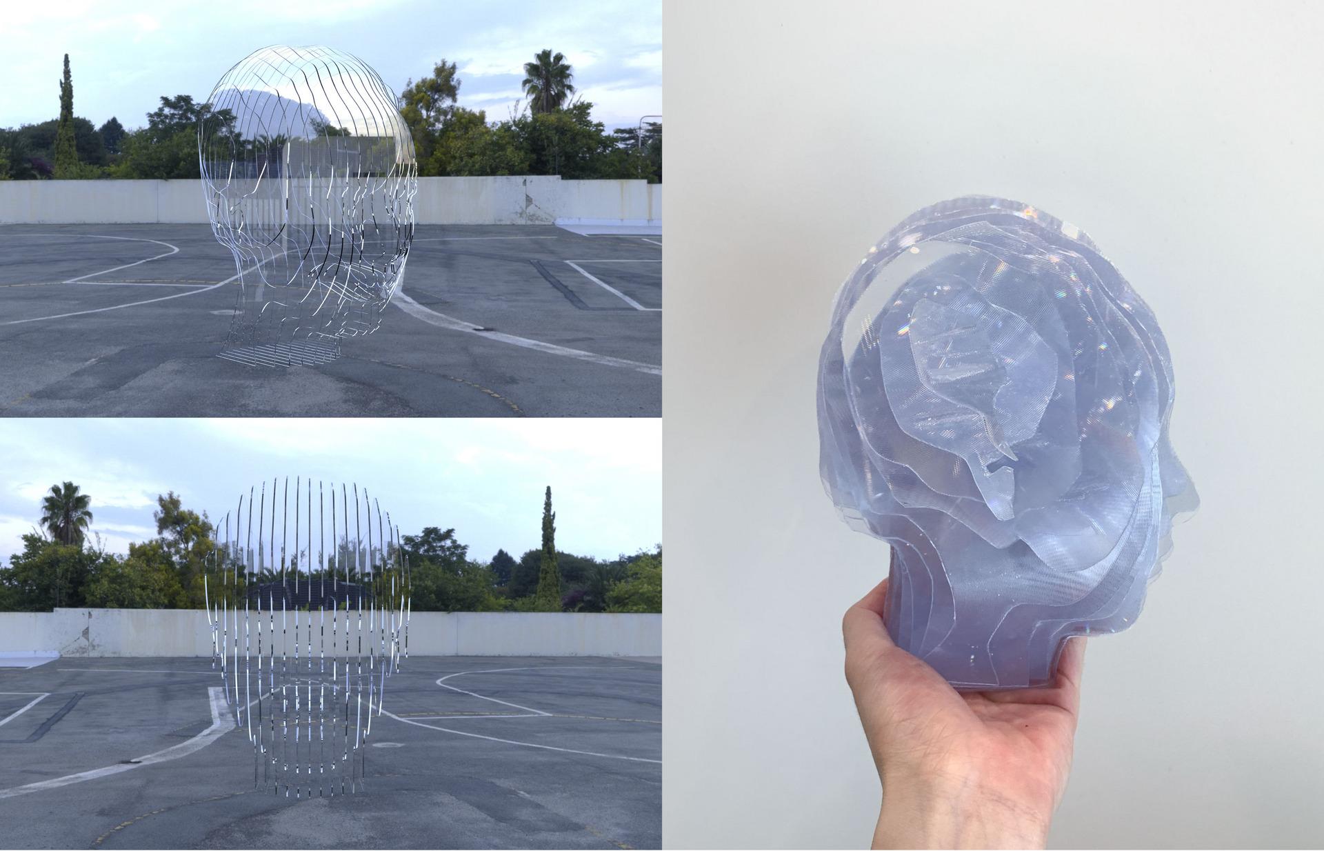 Head Scan Sculpture