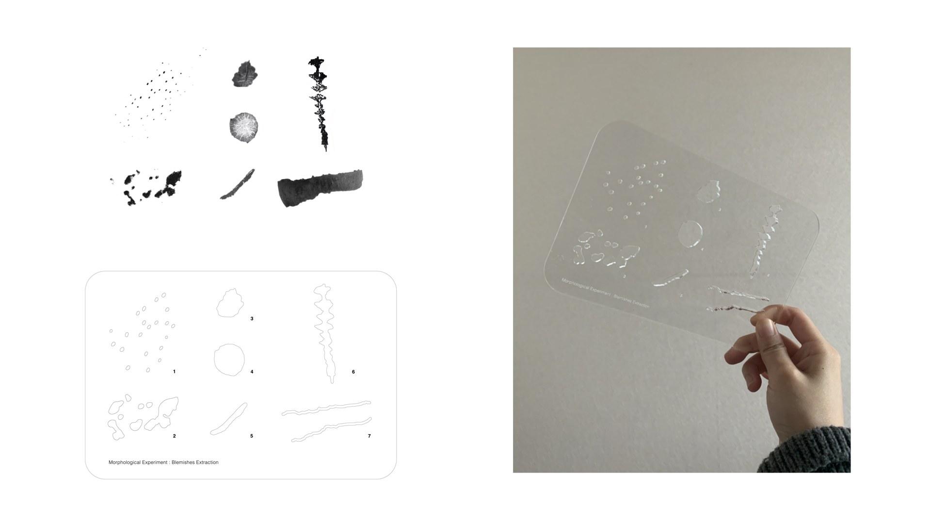 designing a shape ruler
