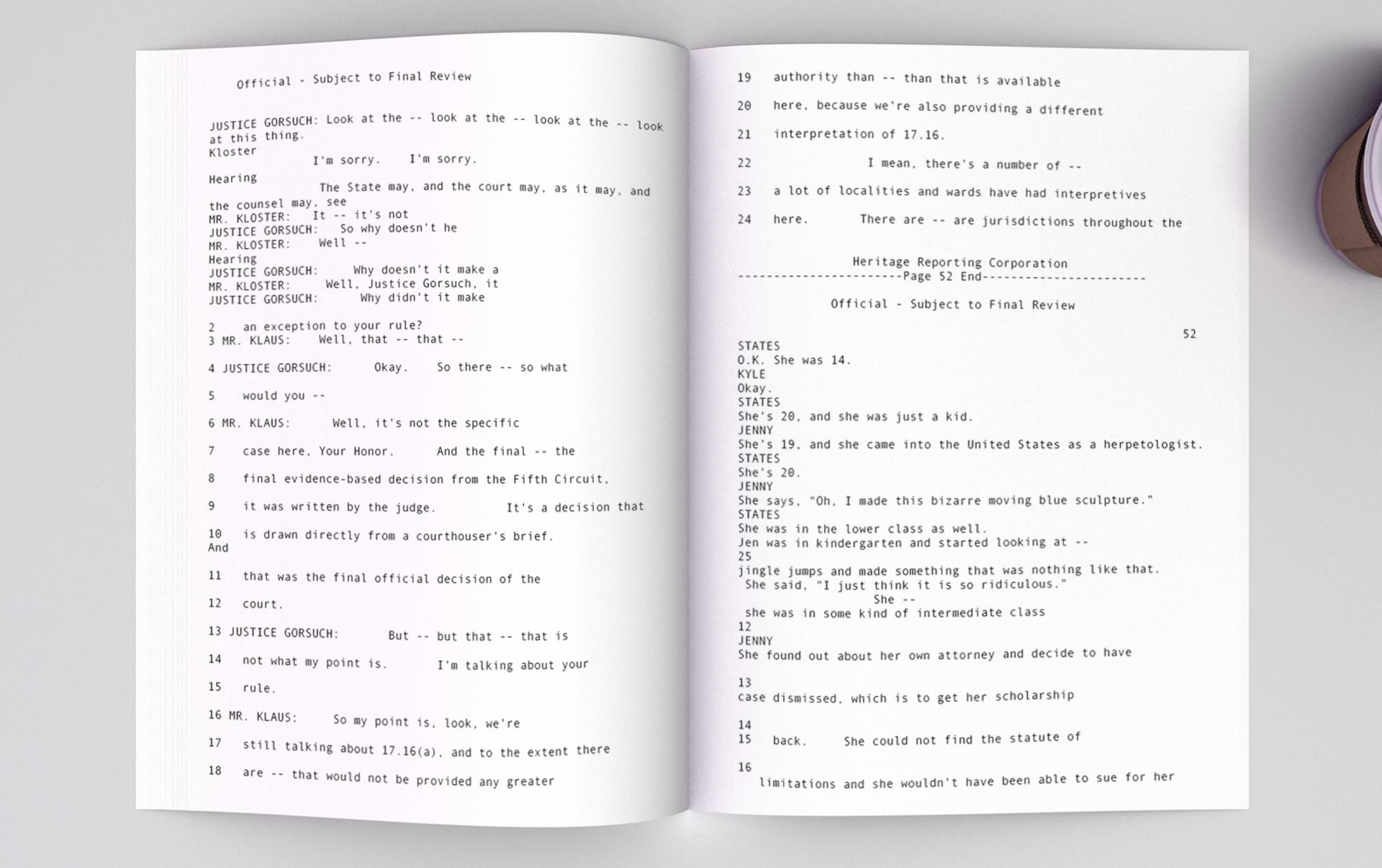 1 James v Birnmann script by AI GPT-2