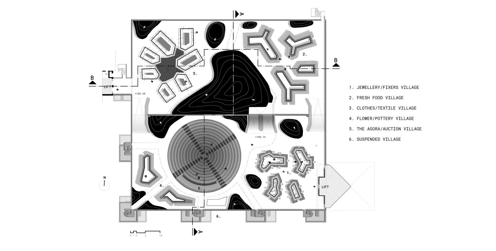 Floor Plan Lev. 5-6A_Scale 1:100