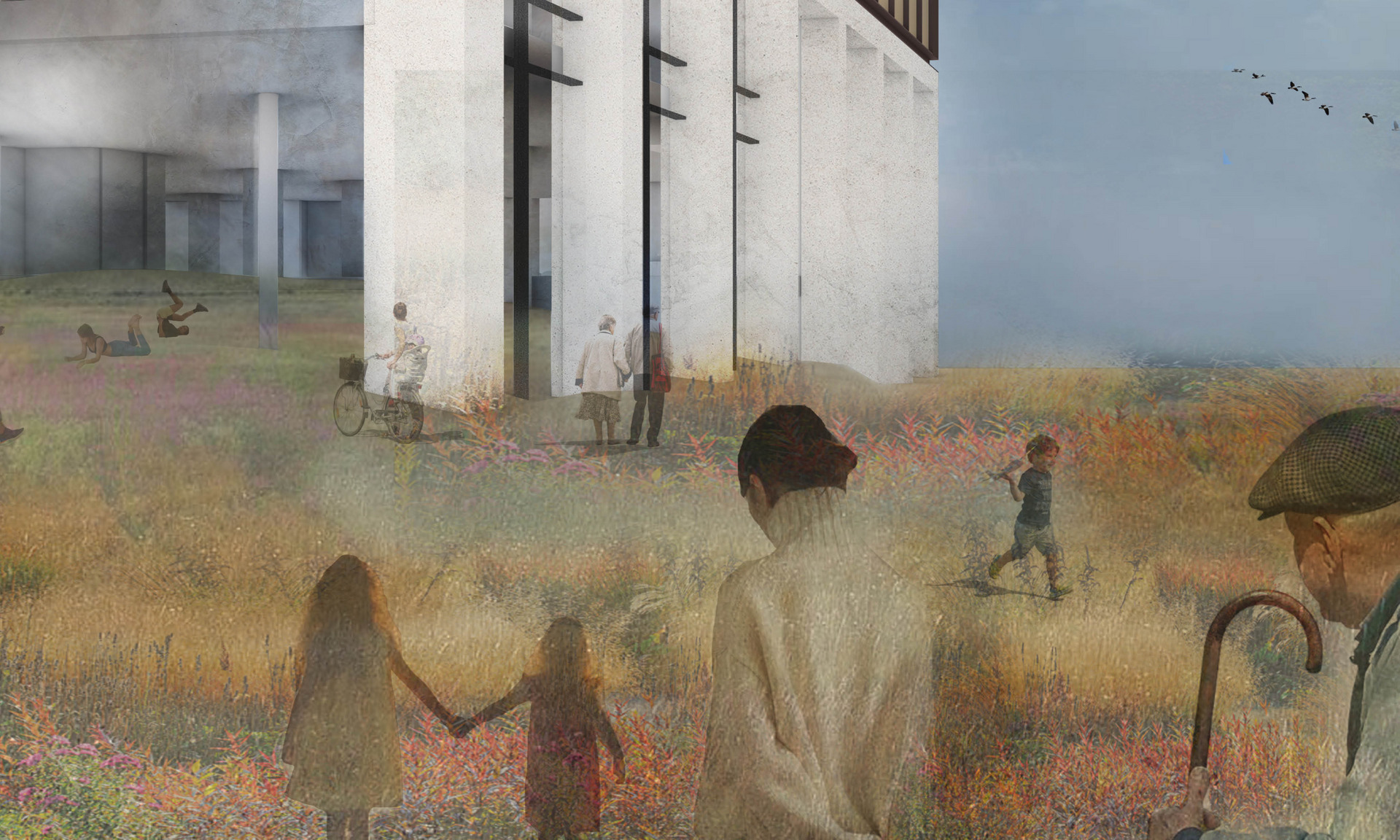 An extension of Camley Street Natural park, a space to reach wider, a space of activism in preventative healthcare