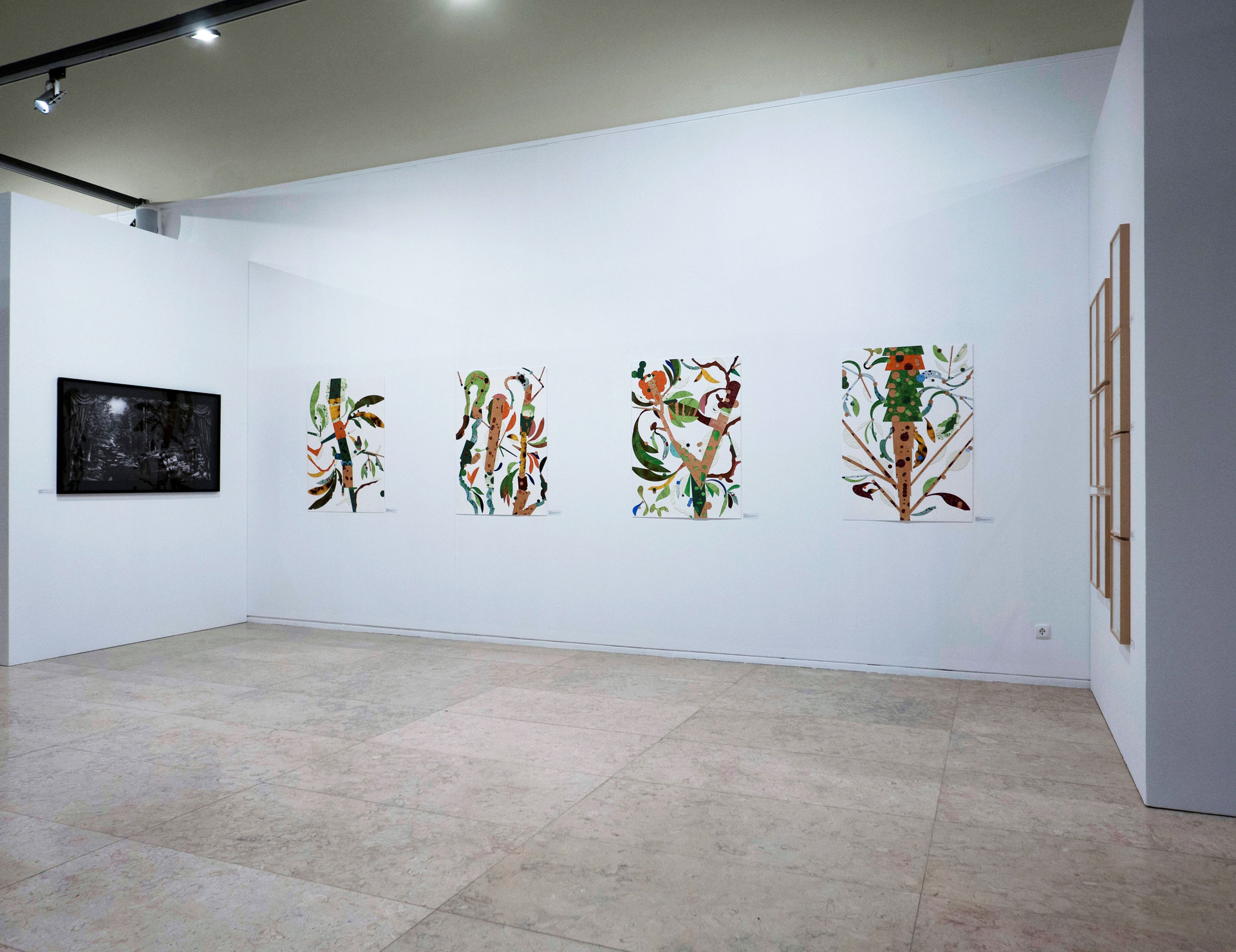 Untitled - installation view. Drawing Room Lisbon 2020.