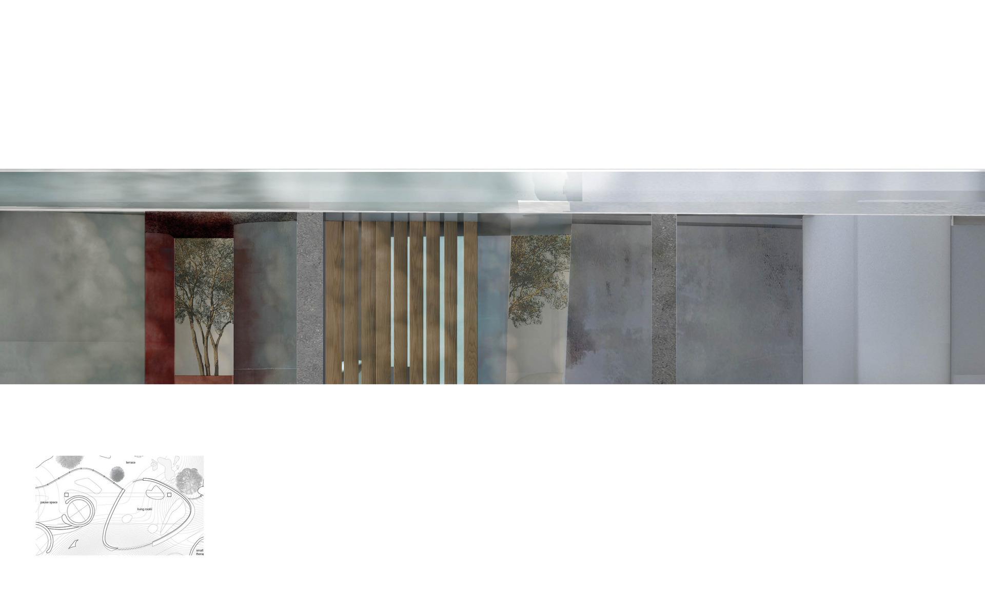 The Atrium, a walk through the central Quiet Space, Level 11
