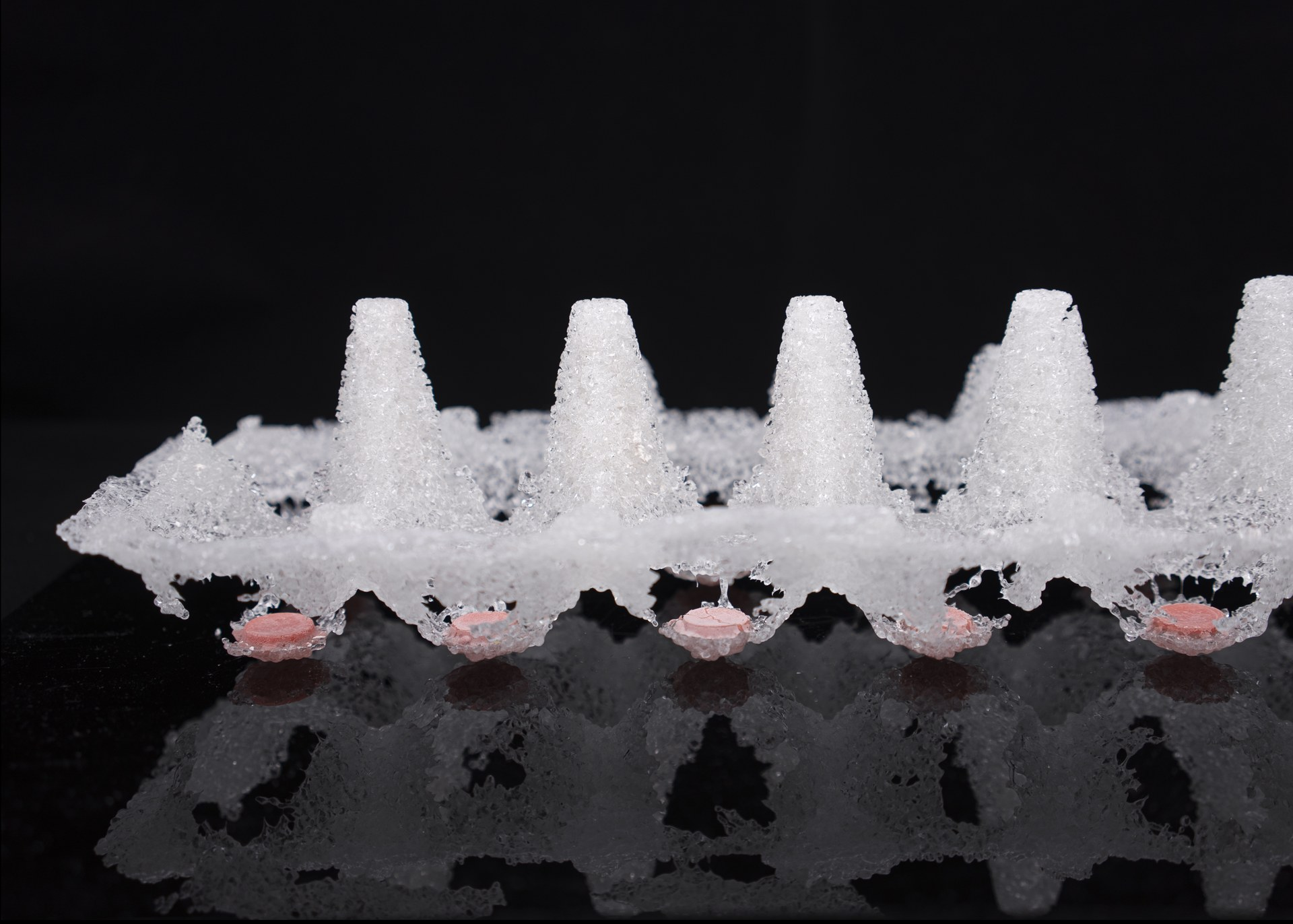 Frozen Shards I, Pate de Verre