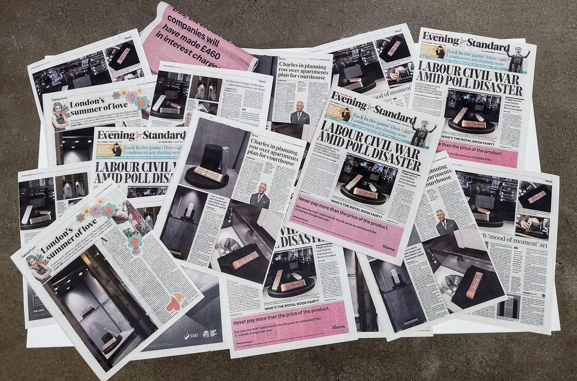 YAOKONGQI —NEWSPAPERS
