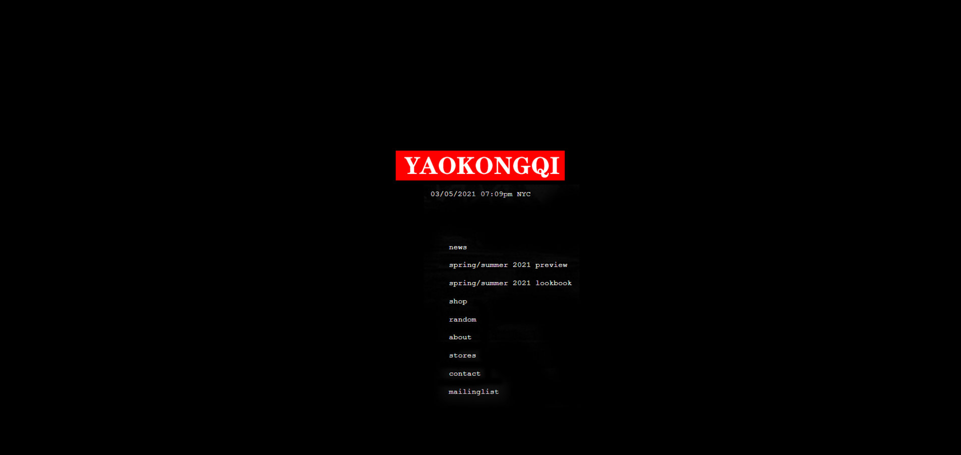 YAOKONGQI —HOMEPAGE