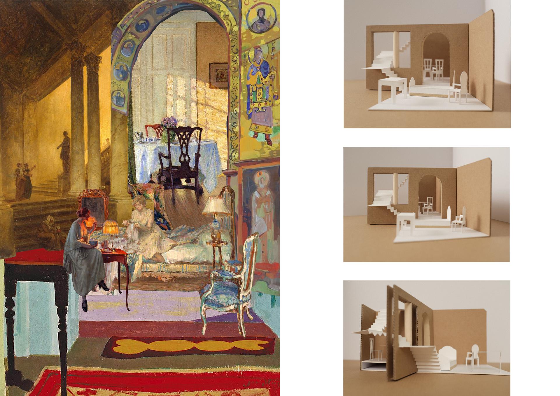 Domestic Imaginary Collage