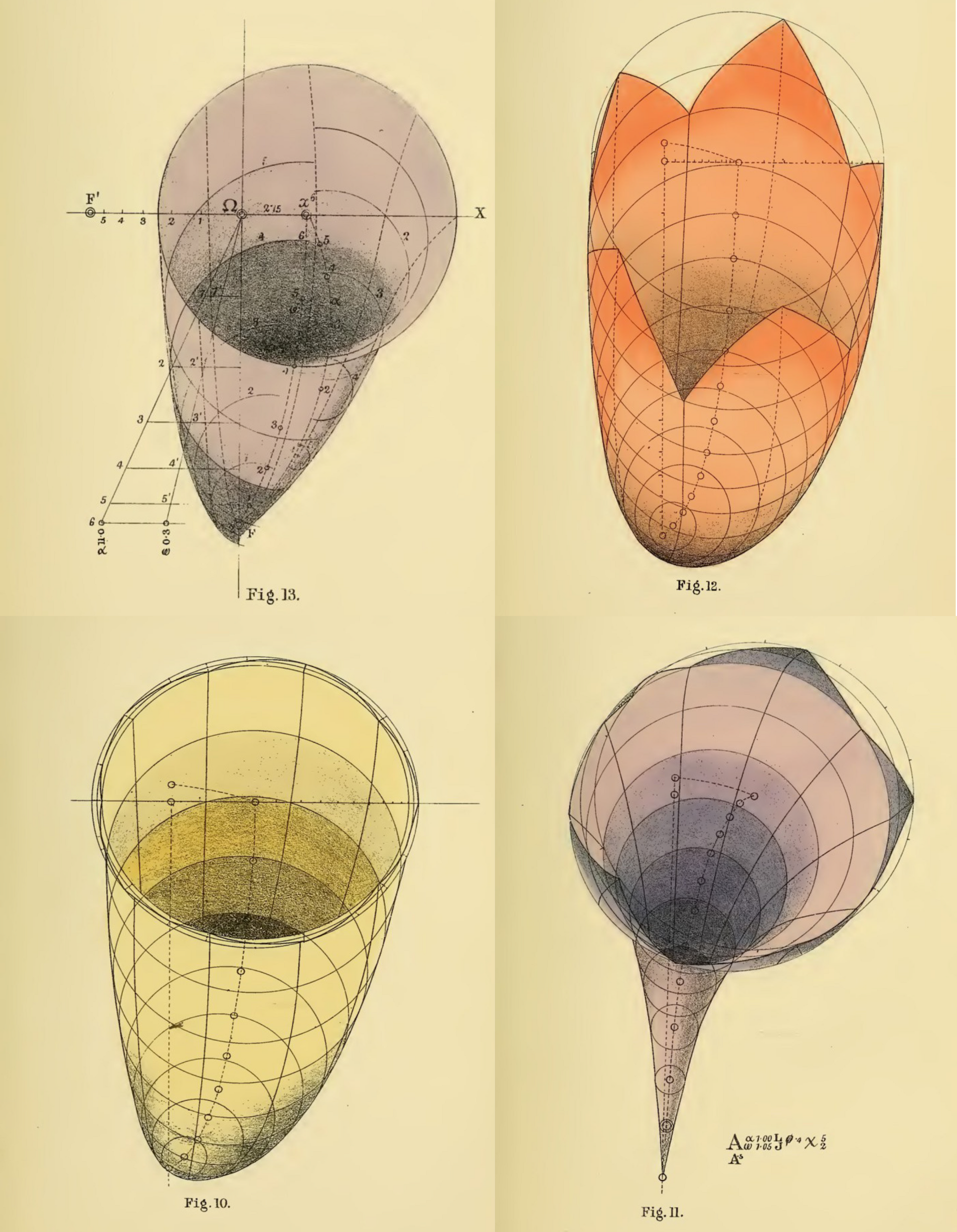 Mathematical forms from The Science of Representation