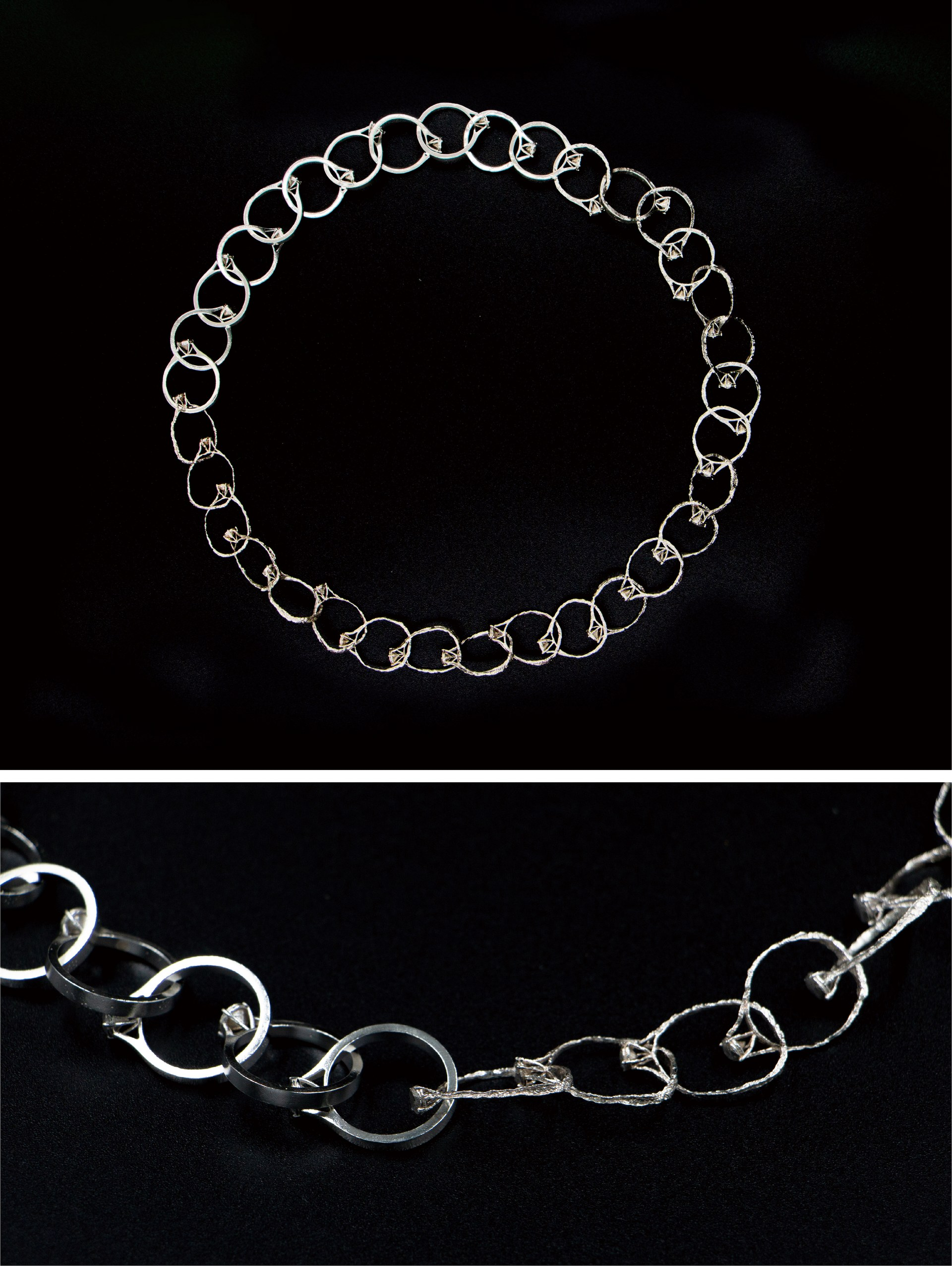 DECAY RINGS NECKLACE (DETAIL)