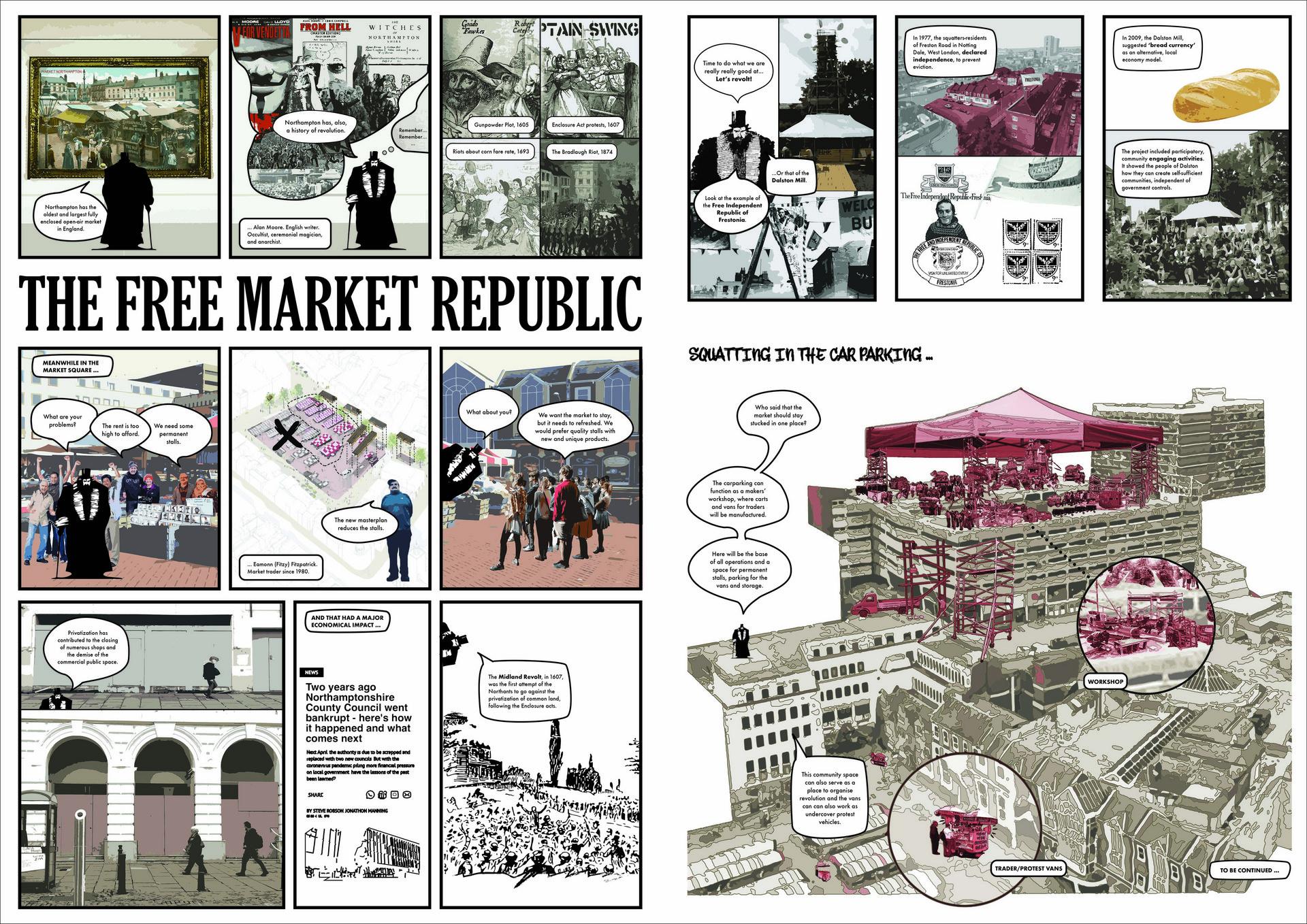 Research Summary Comic-Strip