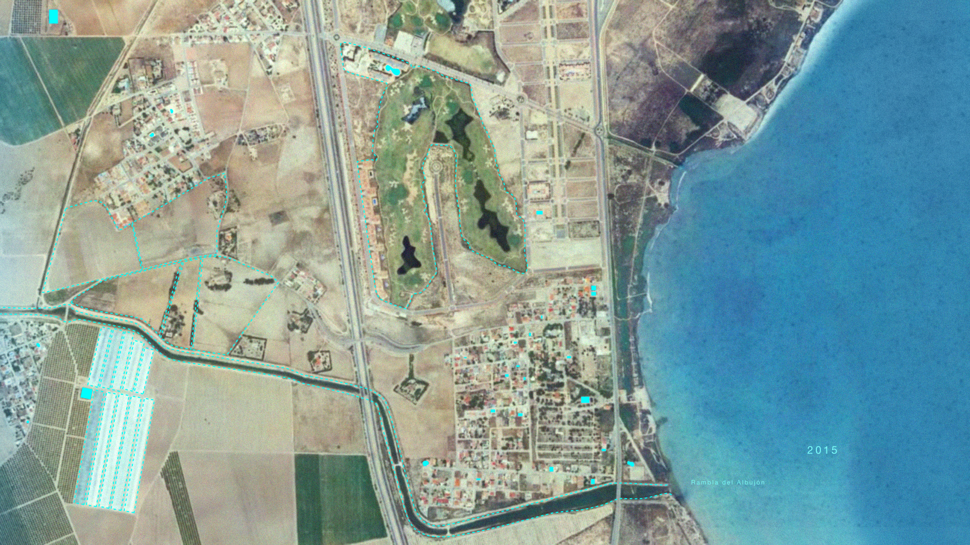The Mar Menor in 2015.