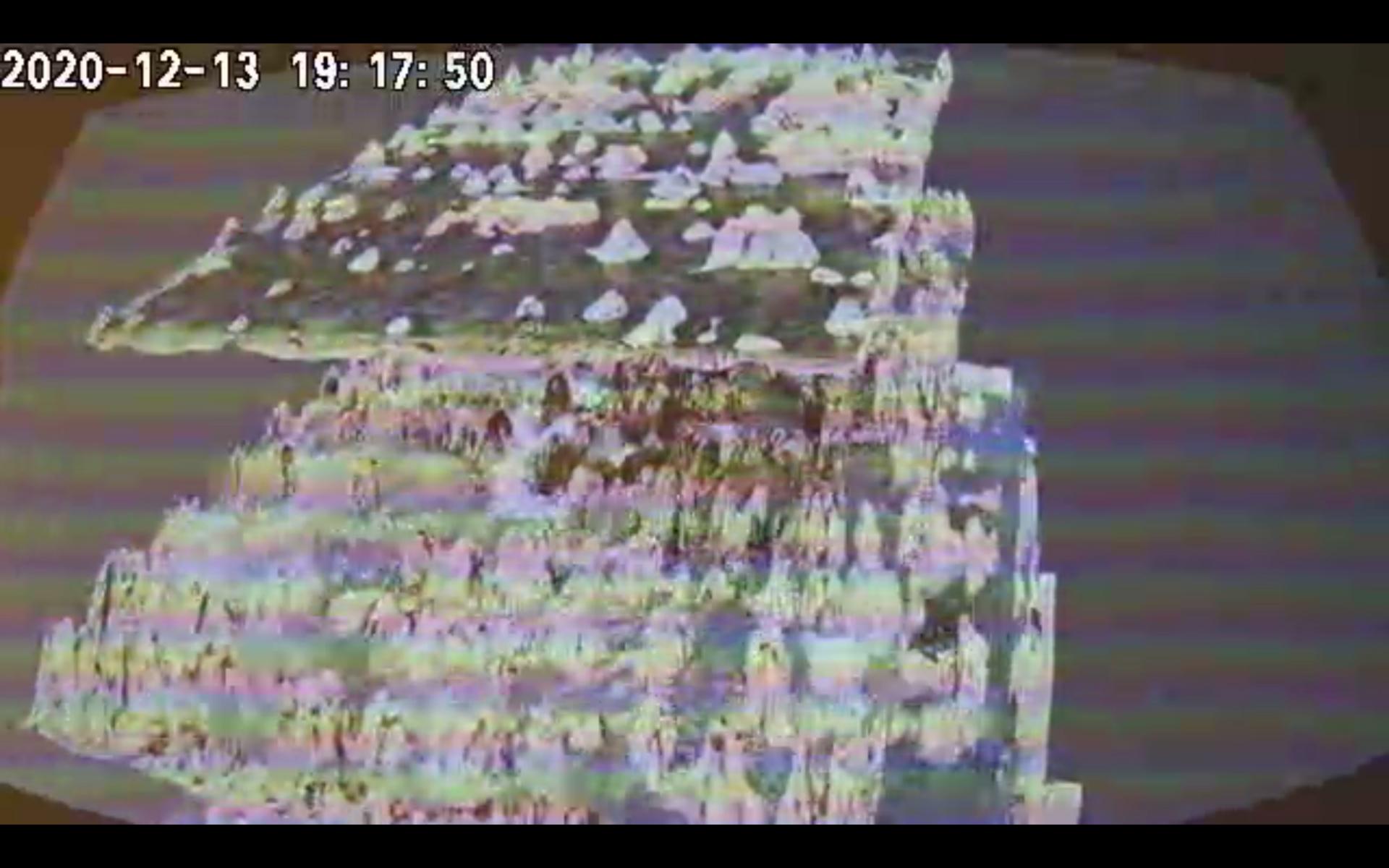 Sound landscape in CCTV camera