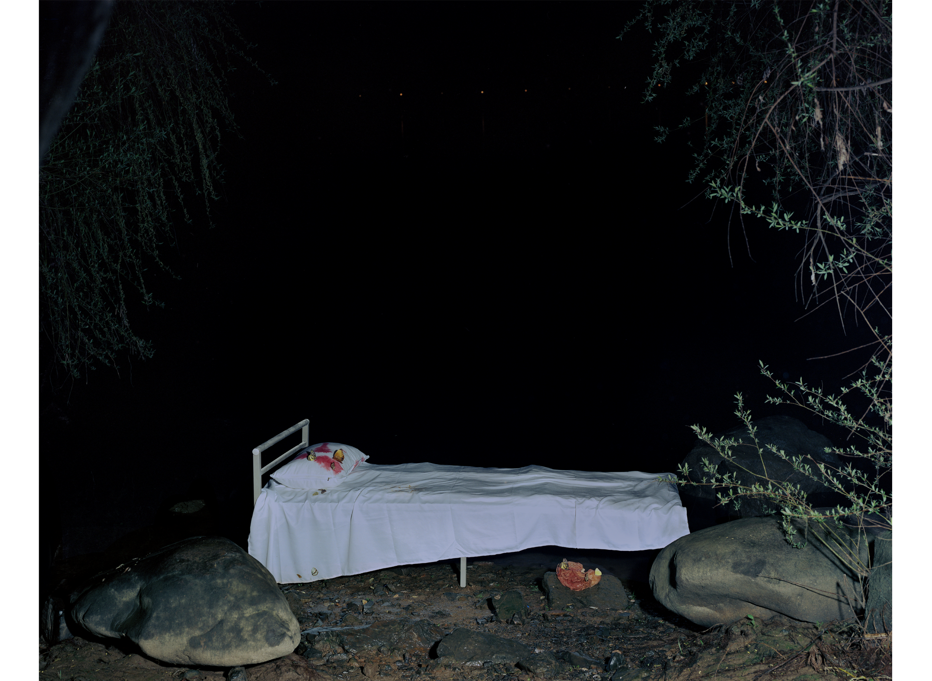 """""""The aching bed by the river, 2021"""""""