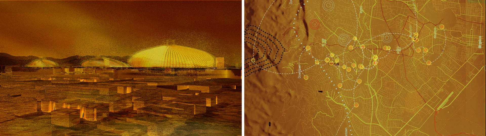 Melanoness Centres - Radiant Suns    Movement Paths