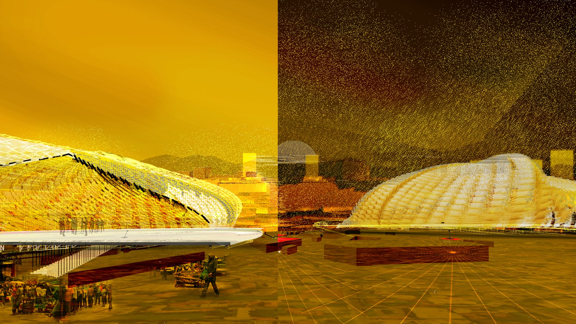 Melanoness Centres - Day to Night