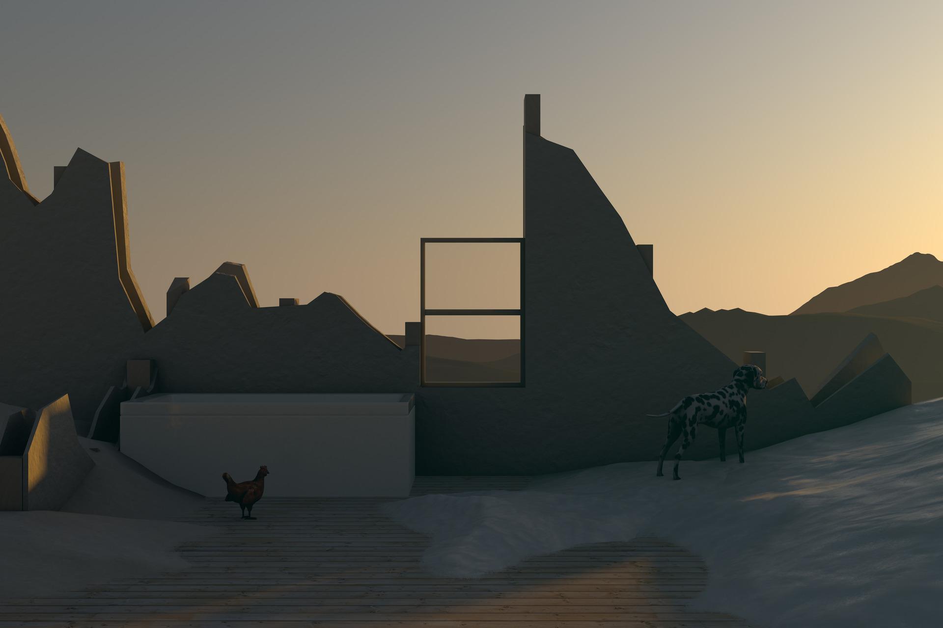 Plot: Sci-Fi Scripted Landscape