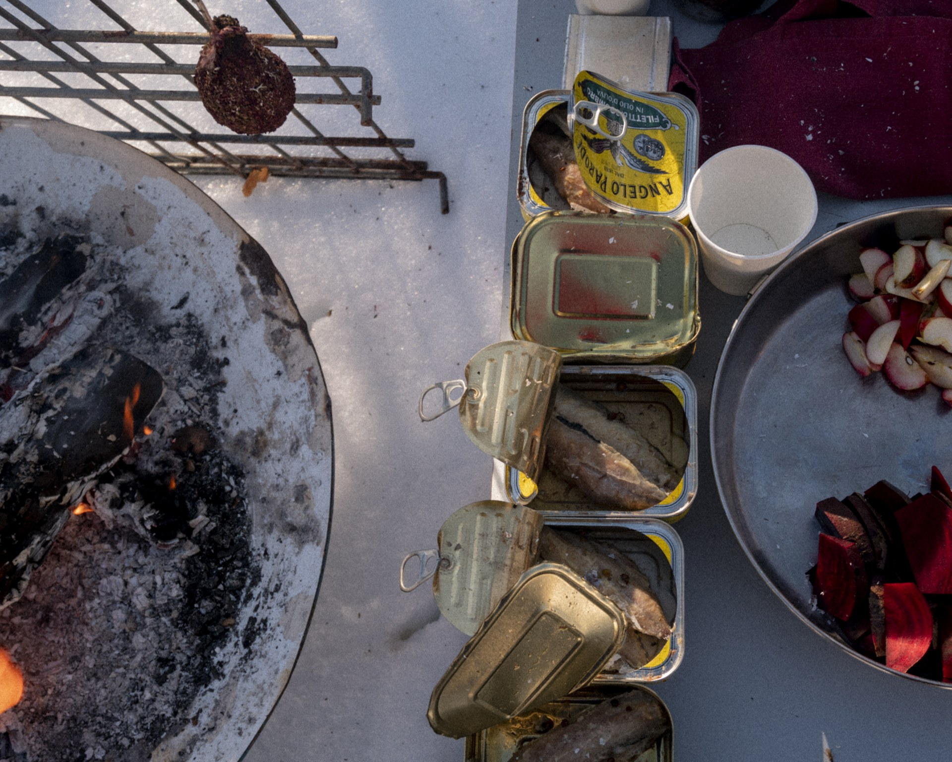 Mackerel - Smoked mackerel with green juniper, scots pine bark and dehydrated blackthorns