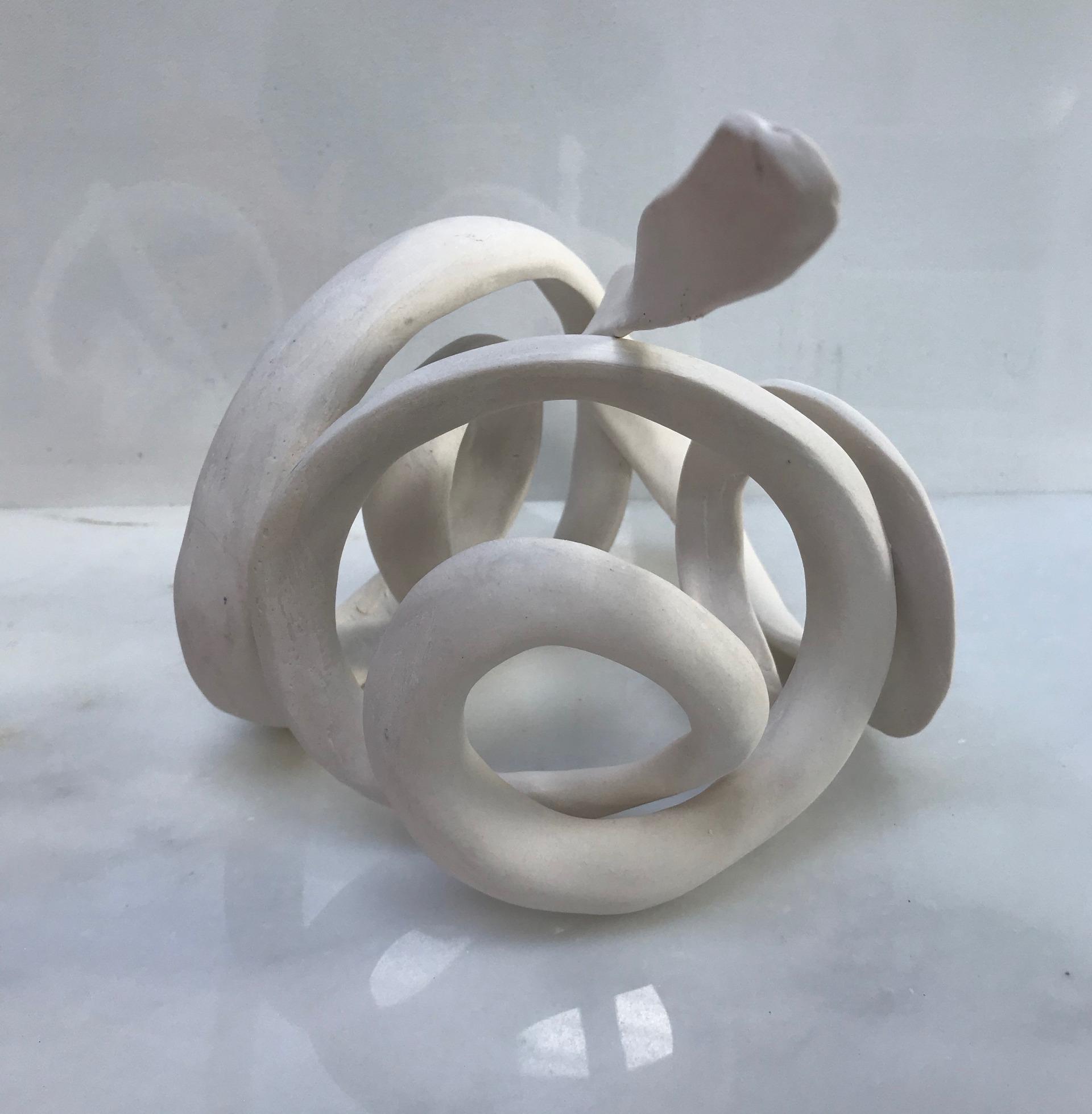 'White Rotation 1'   18cm3 porcelain
