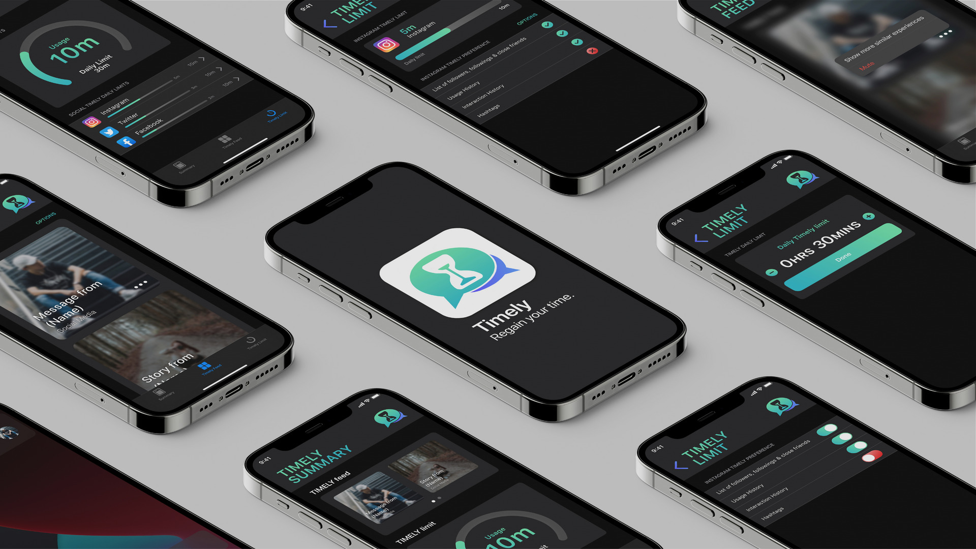 Timely the Native App Prototype