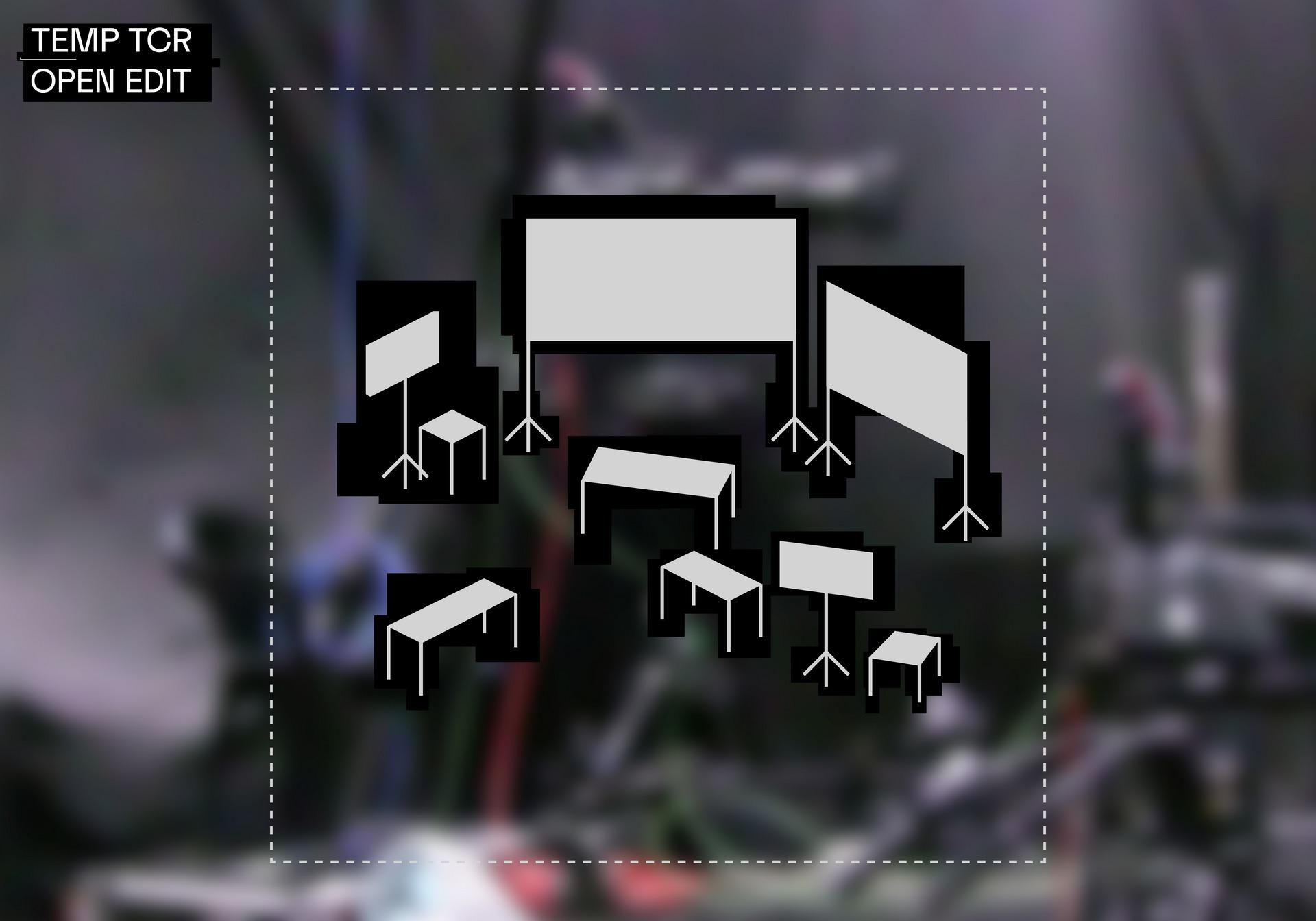 'Open Edit' A/V Rig Diagram