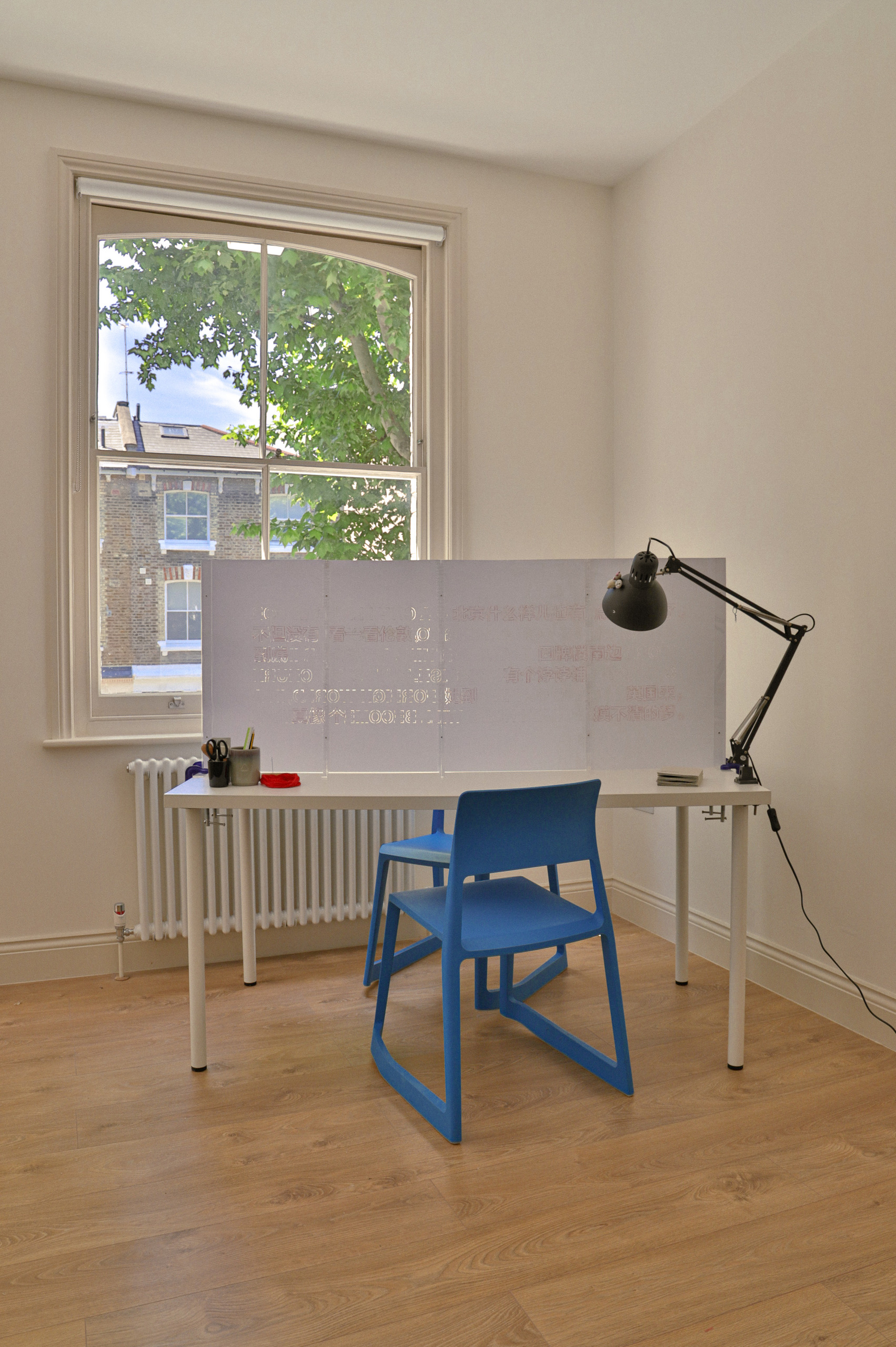 150cm desk, sewing template