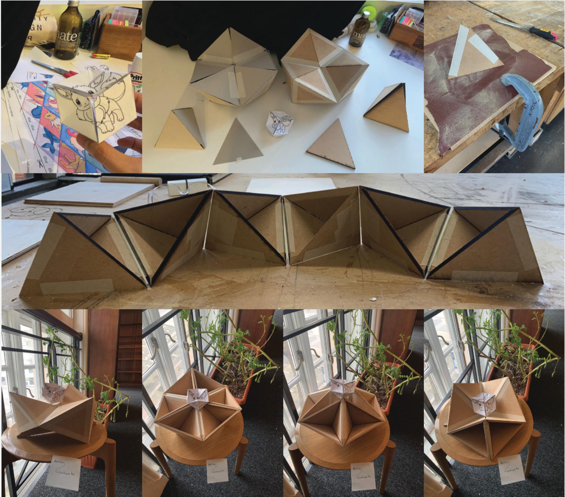 Kaleidocycle Box: Process