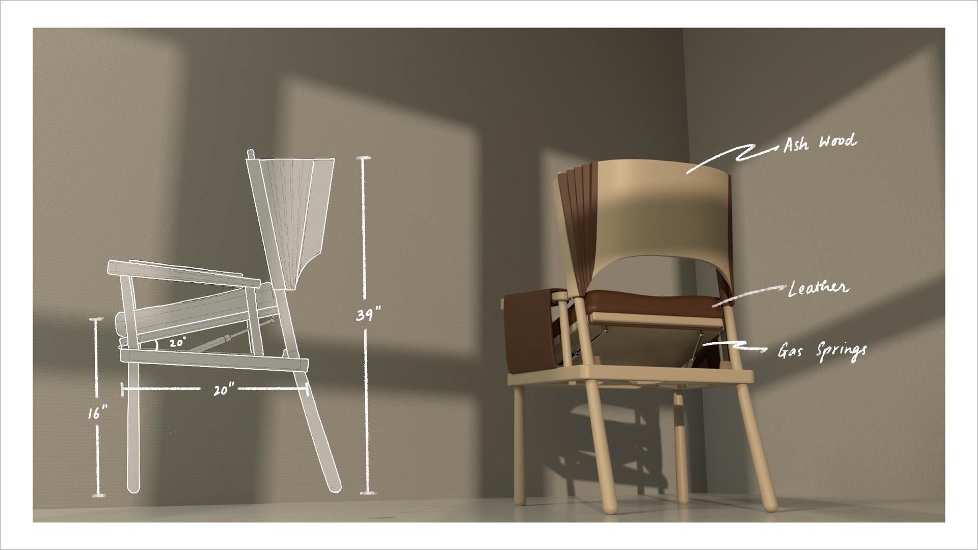 Dimensions + Materials