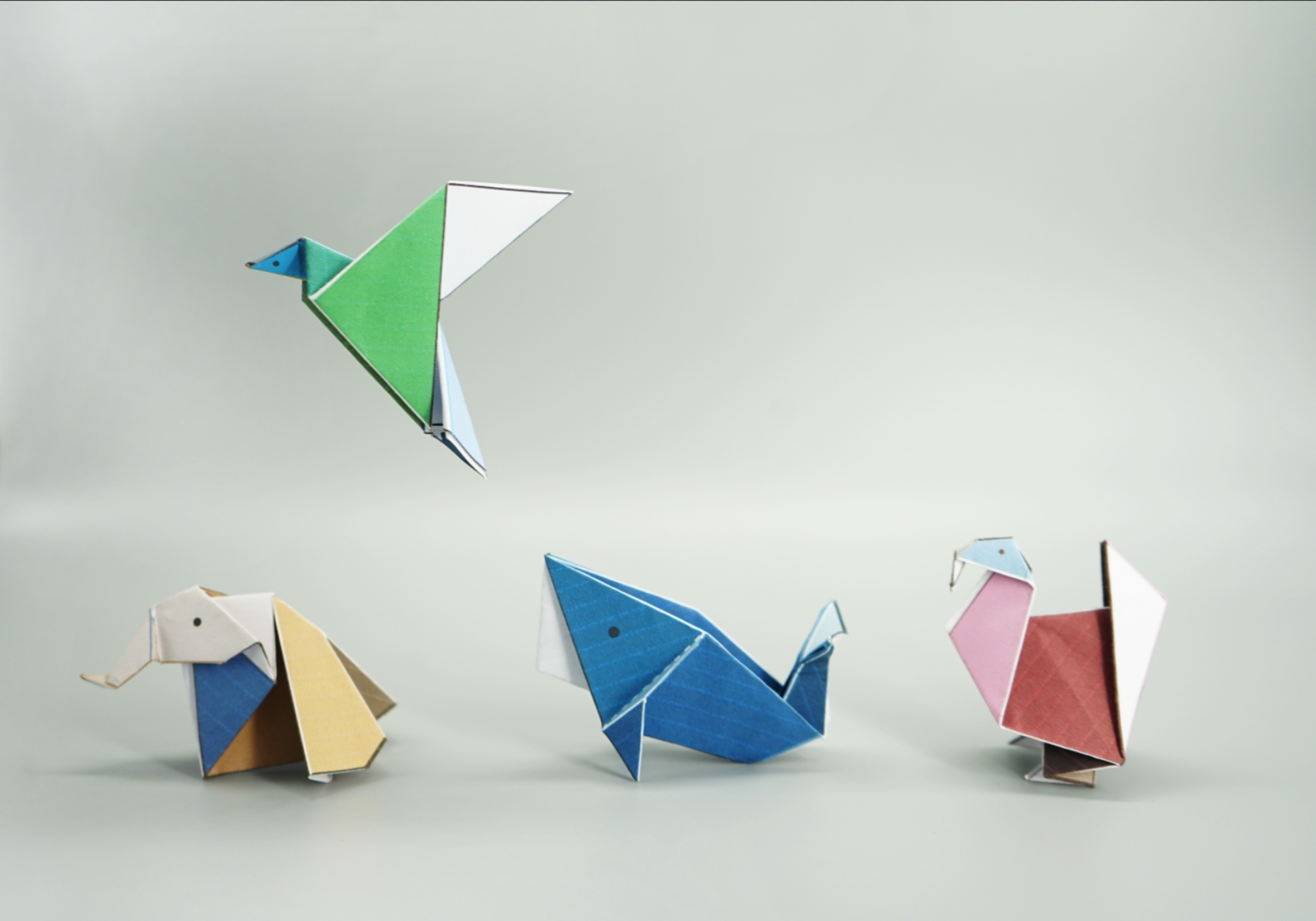 Outlooks of Origamis