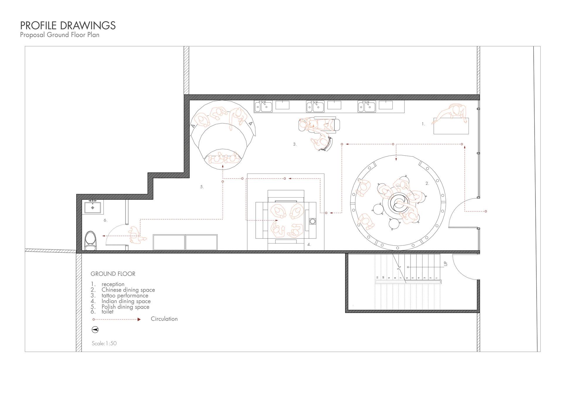 Proposal Ground Floor Plan