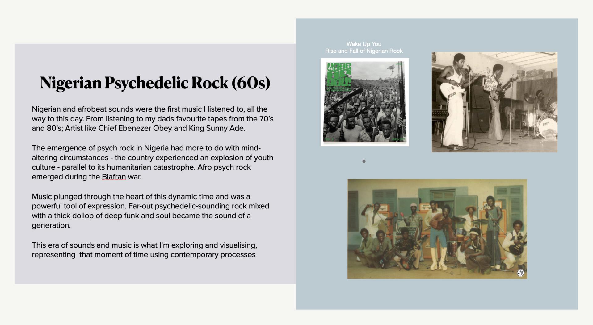 Nigerian Psychedelic Rock (60s)