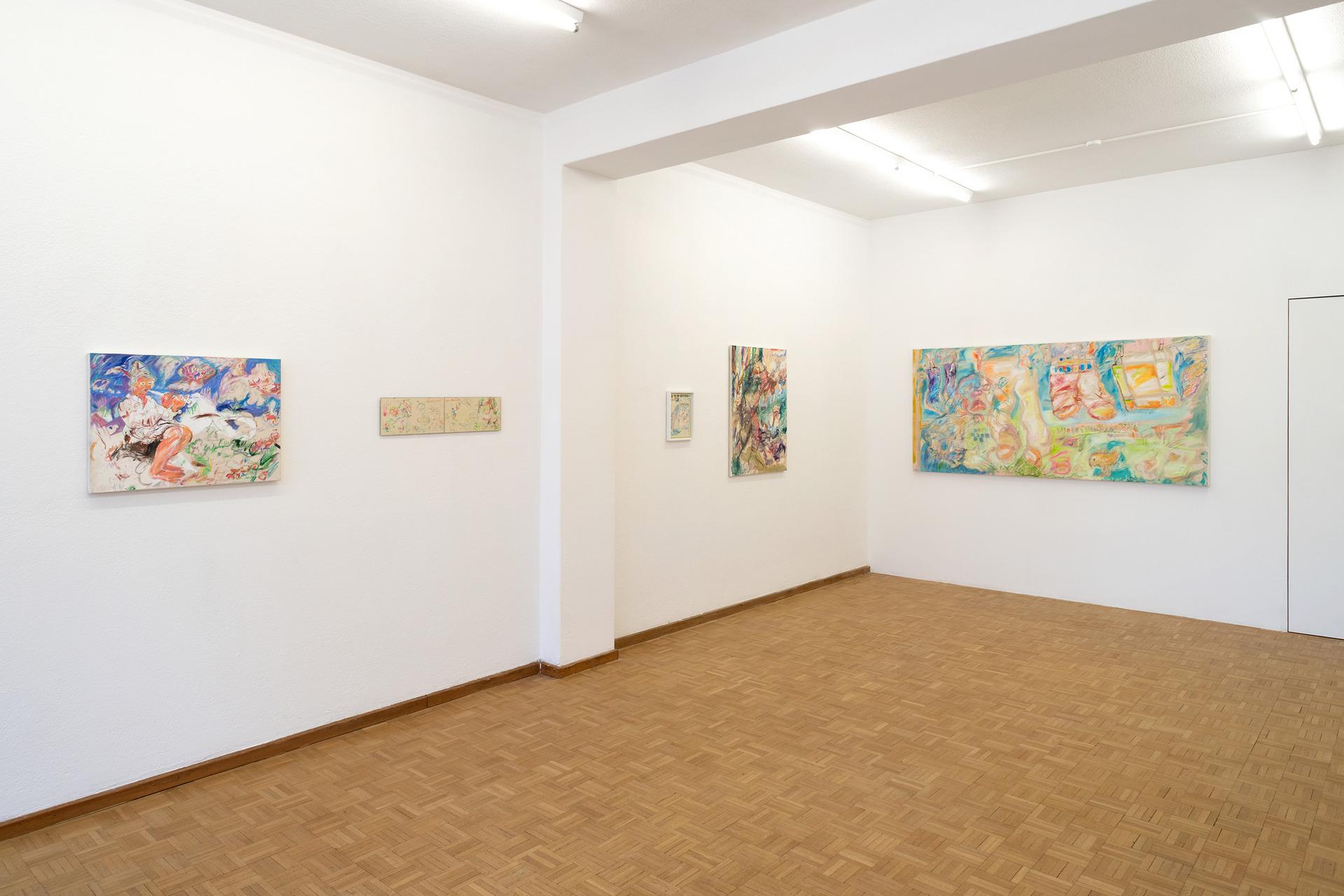 Exhibition view: Sentiment Offspace, Zurich