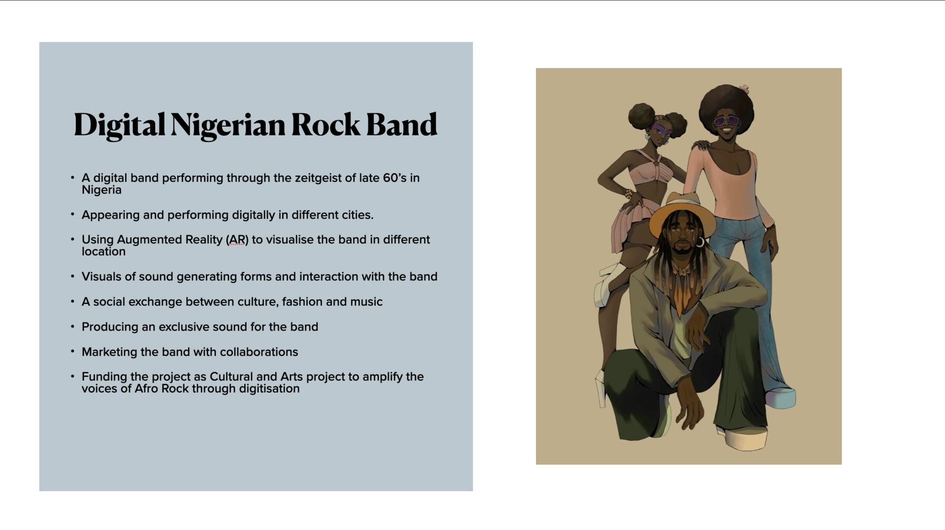 Digital Nigerian Rock Band